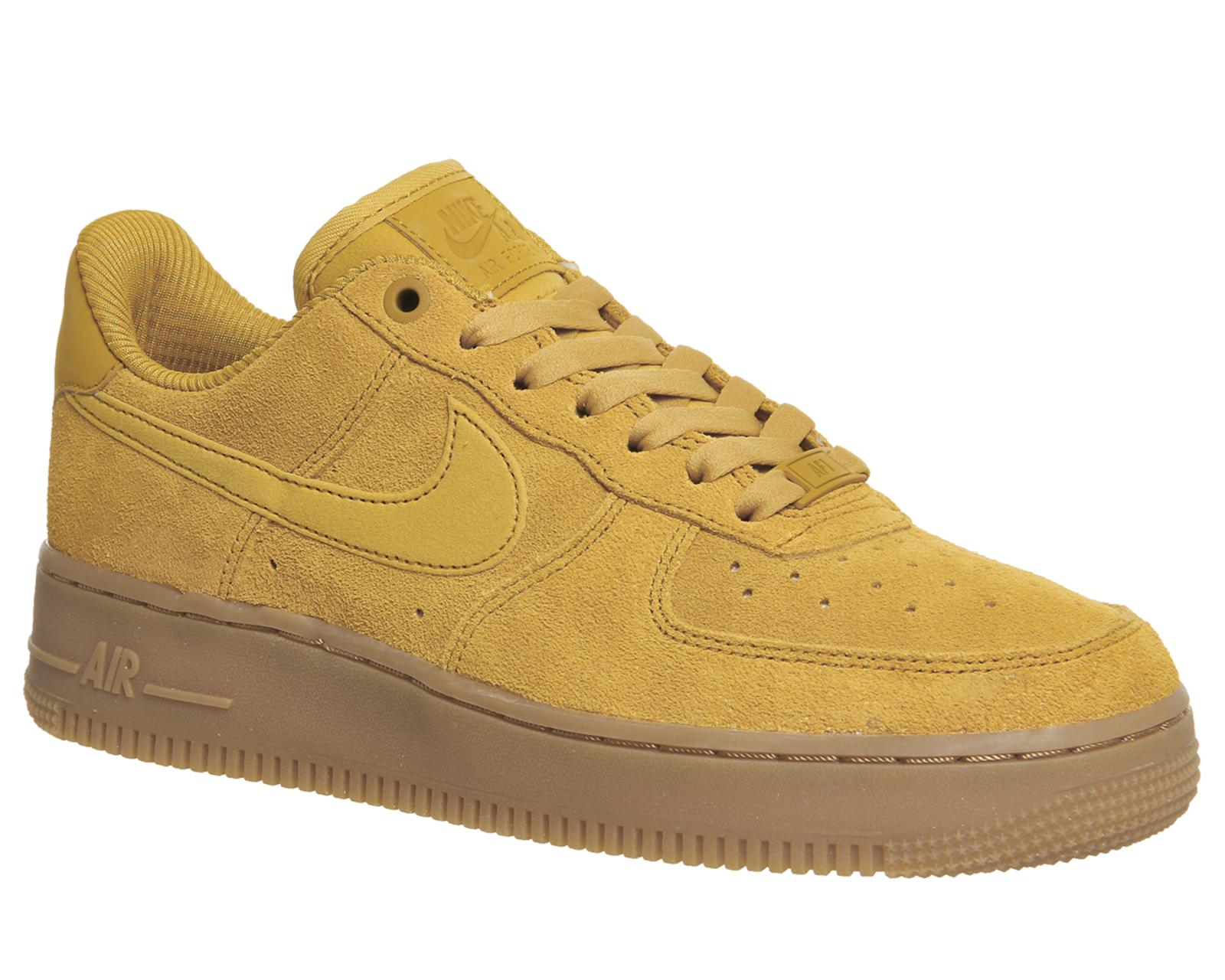 Nike Suede Air Force 1 07 Trainers in