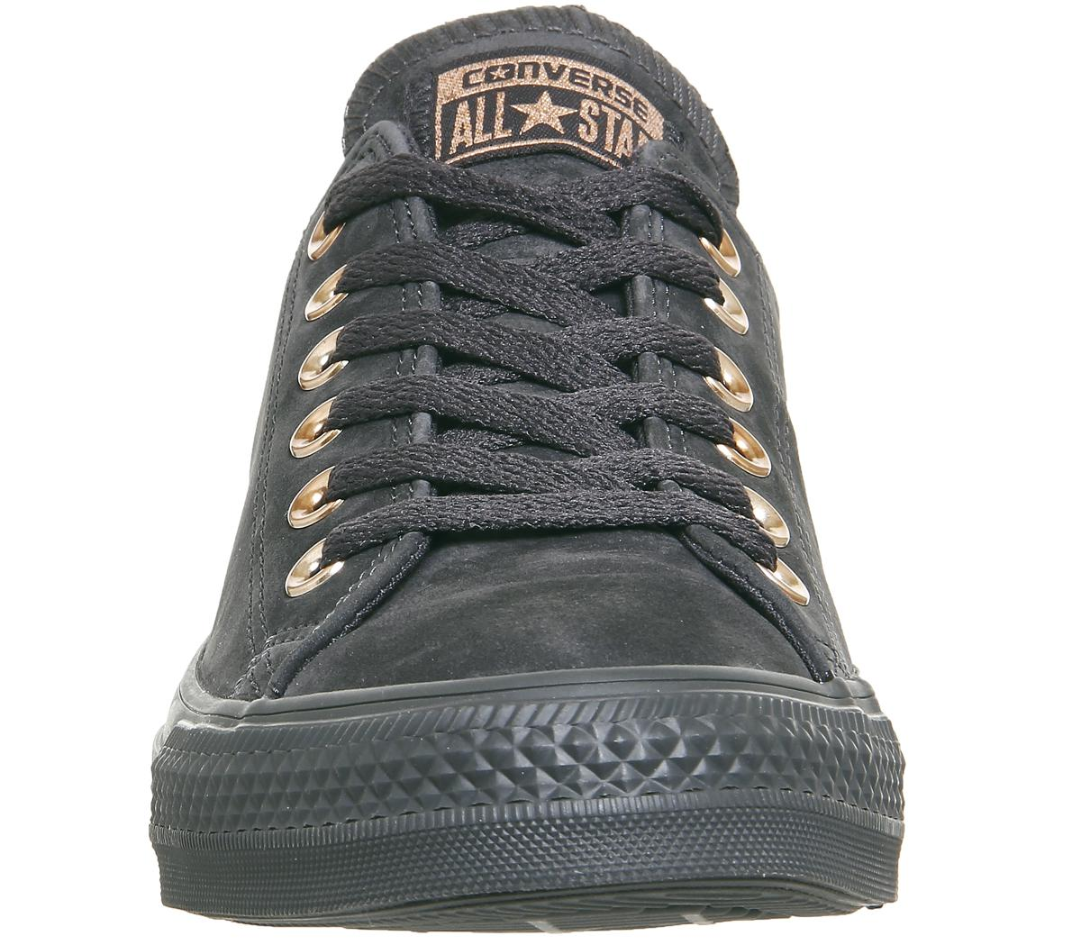 Converse All Star Low Leather in Black