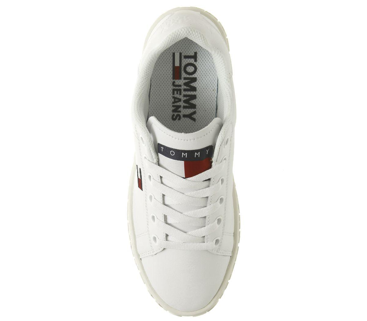 Tommy Hilfiger Leather Jaz Trainers in