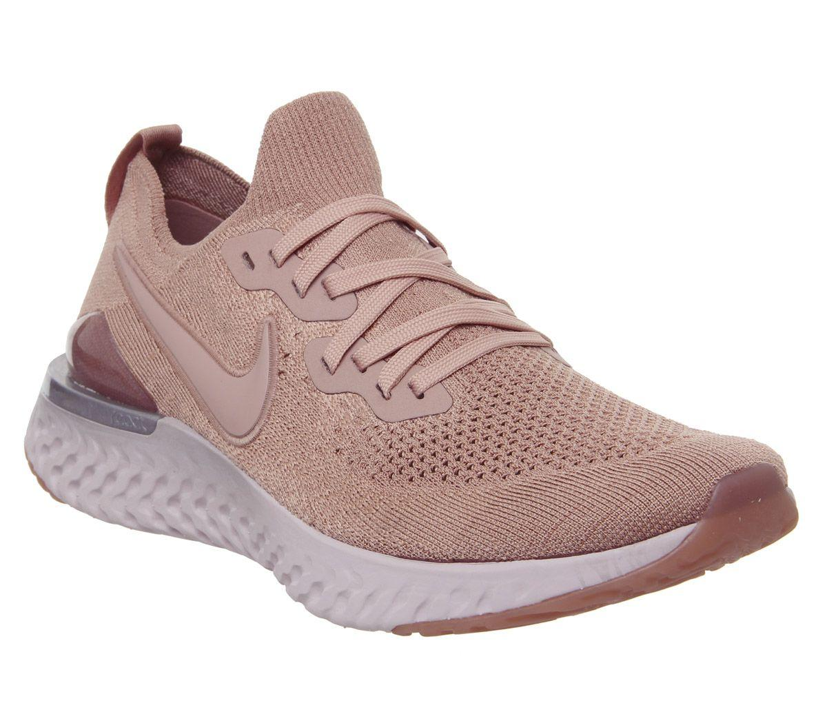 25f270d900d2 Nike Epic React Flyknit 2 Trainers in Pink for Men - Lyst