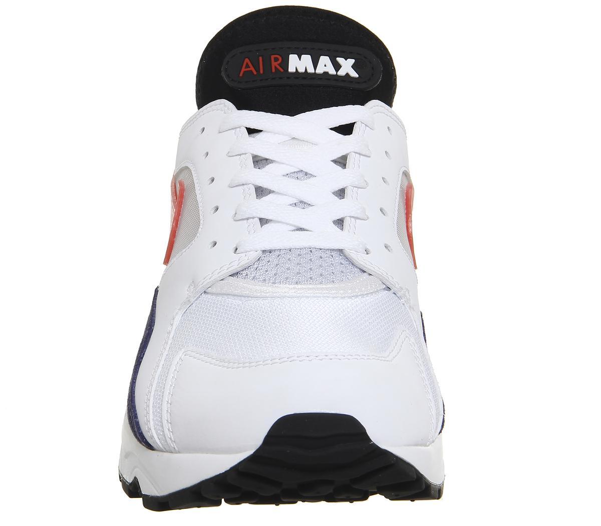 3b040fdbf46 ... release date lyst nike air max 93 trainers in white for men 299e4 7c68e