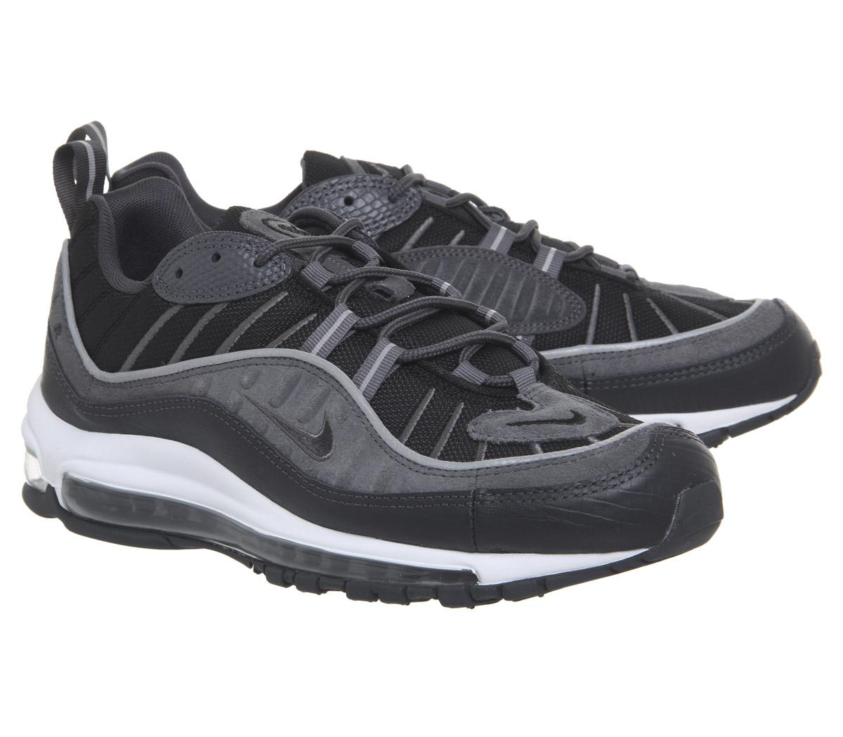 release date 7bb95 ab653 Nike Air Max 98 Trainers in Gray for Men - Lyst