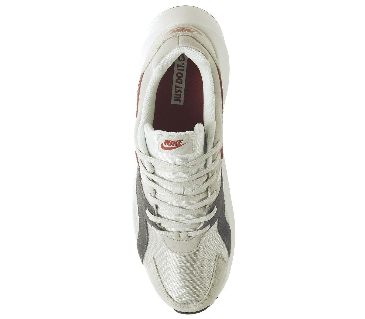Nike Suede Pantheos Trainers in White for Men