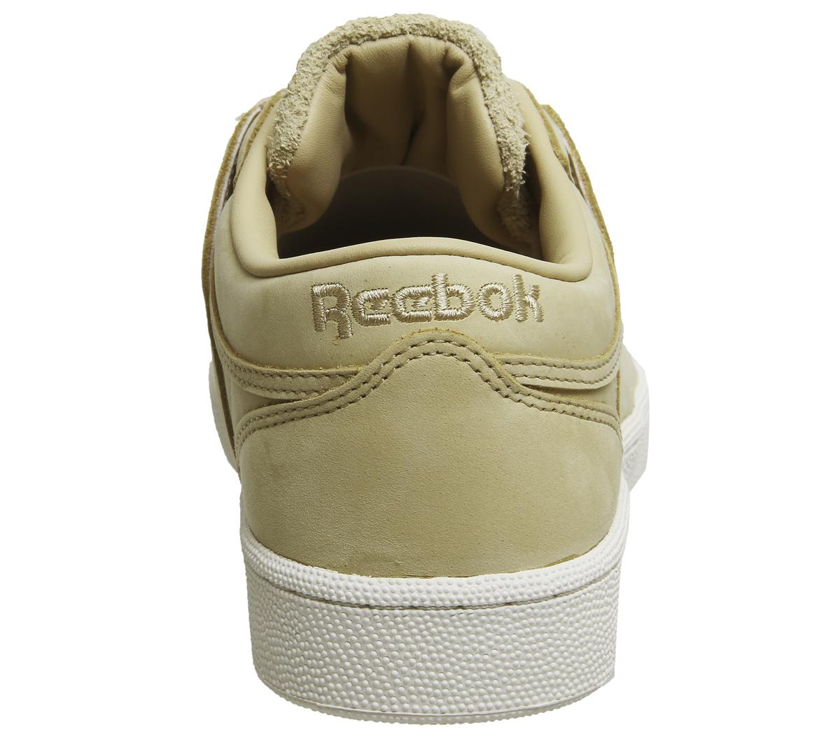 Reebok Rubber Club Workout Trainers in Beige Chalk (Natural) for Men