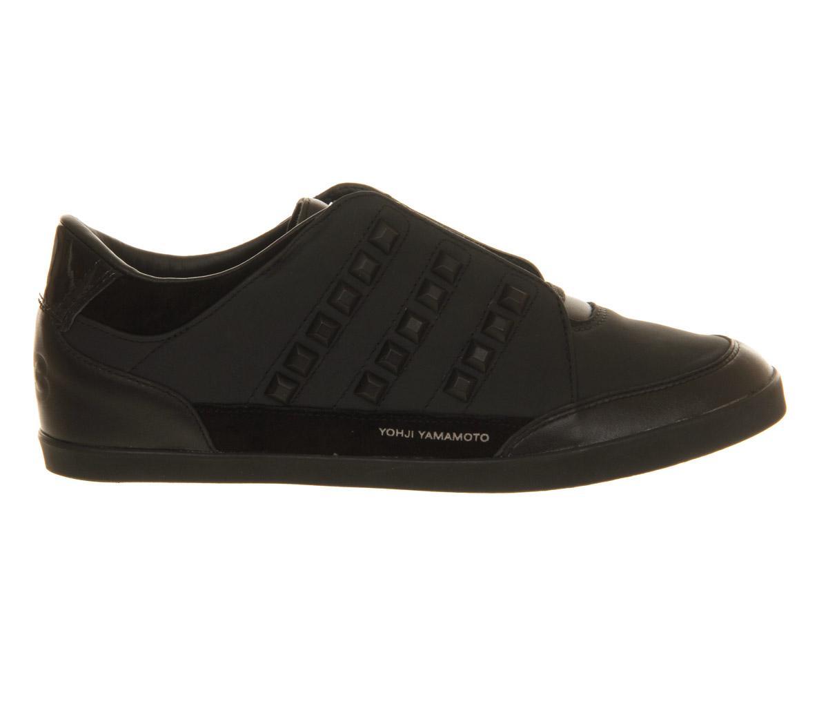 Y-3 Leather Honja Low in Black for Men