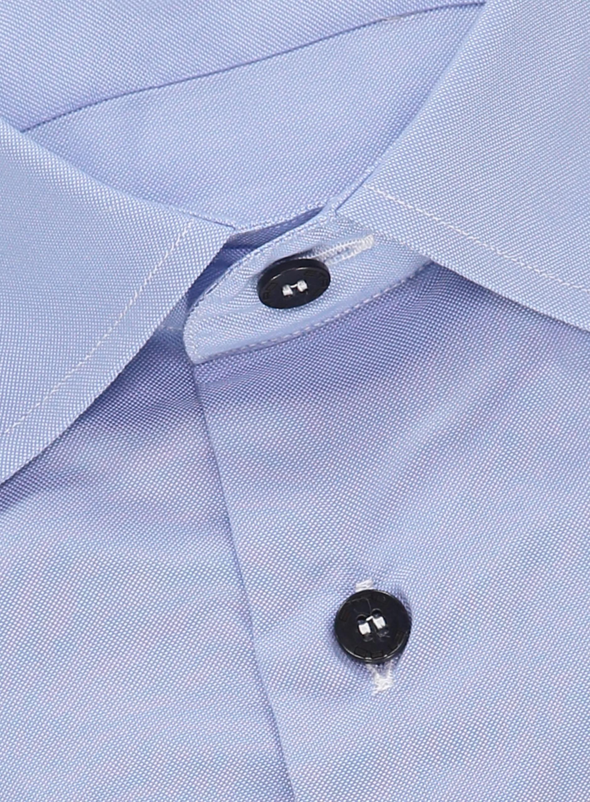 Etro Slim-fit Oxford Overhemd Lichtblauw in het Blauw voor heren