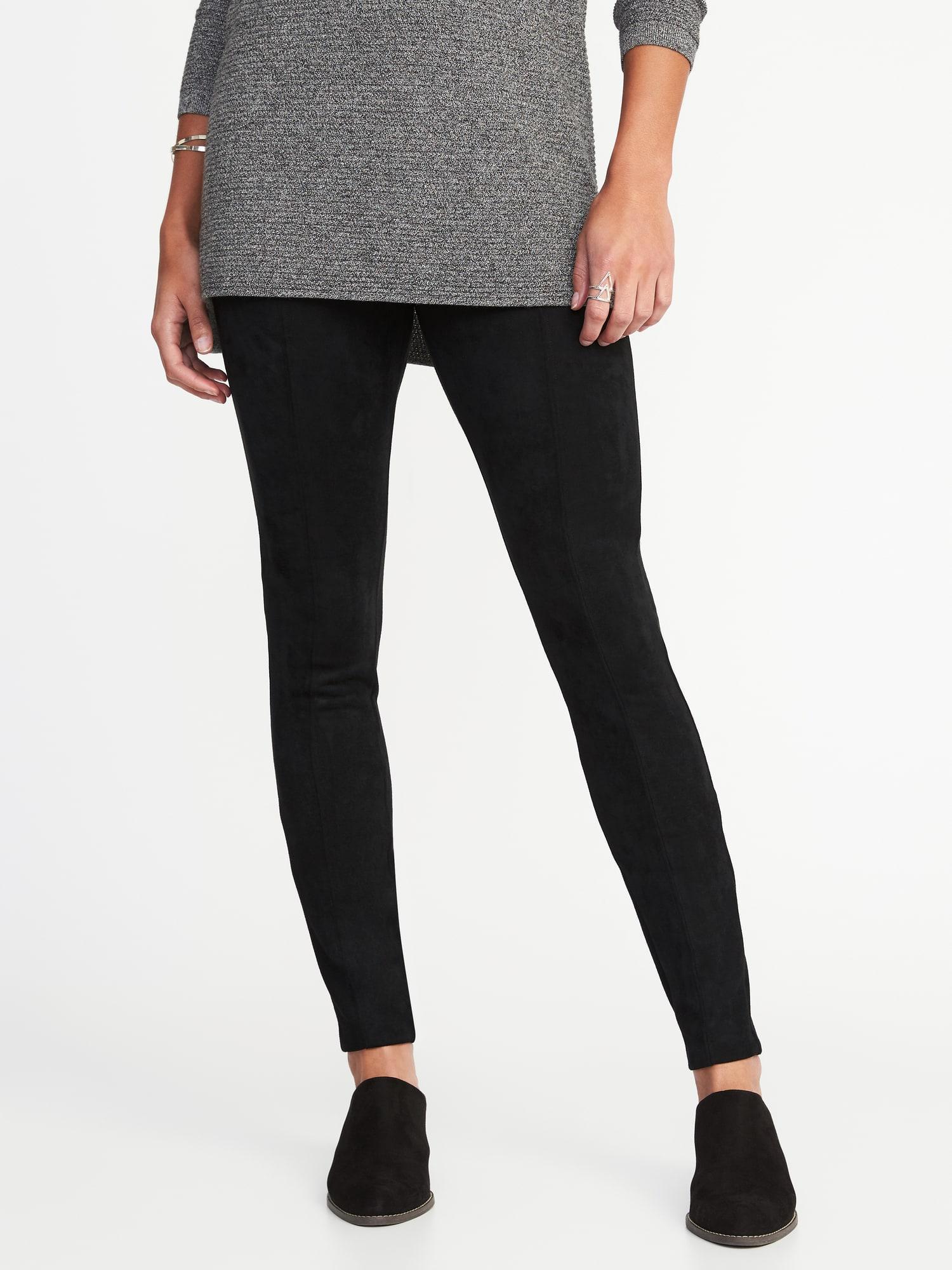 Tommy Hilfiger Faux-Suede Skinny Pants #pants | Pants