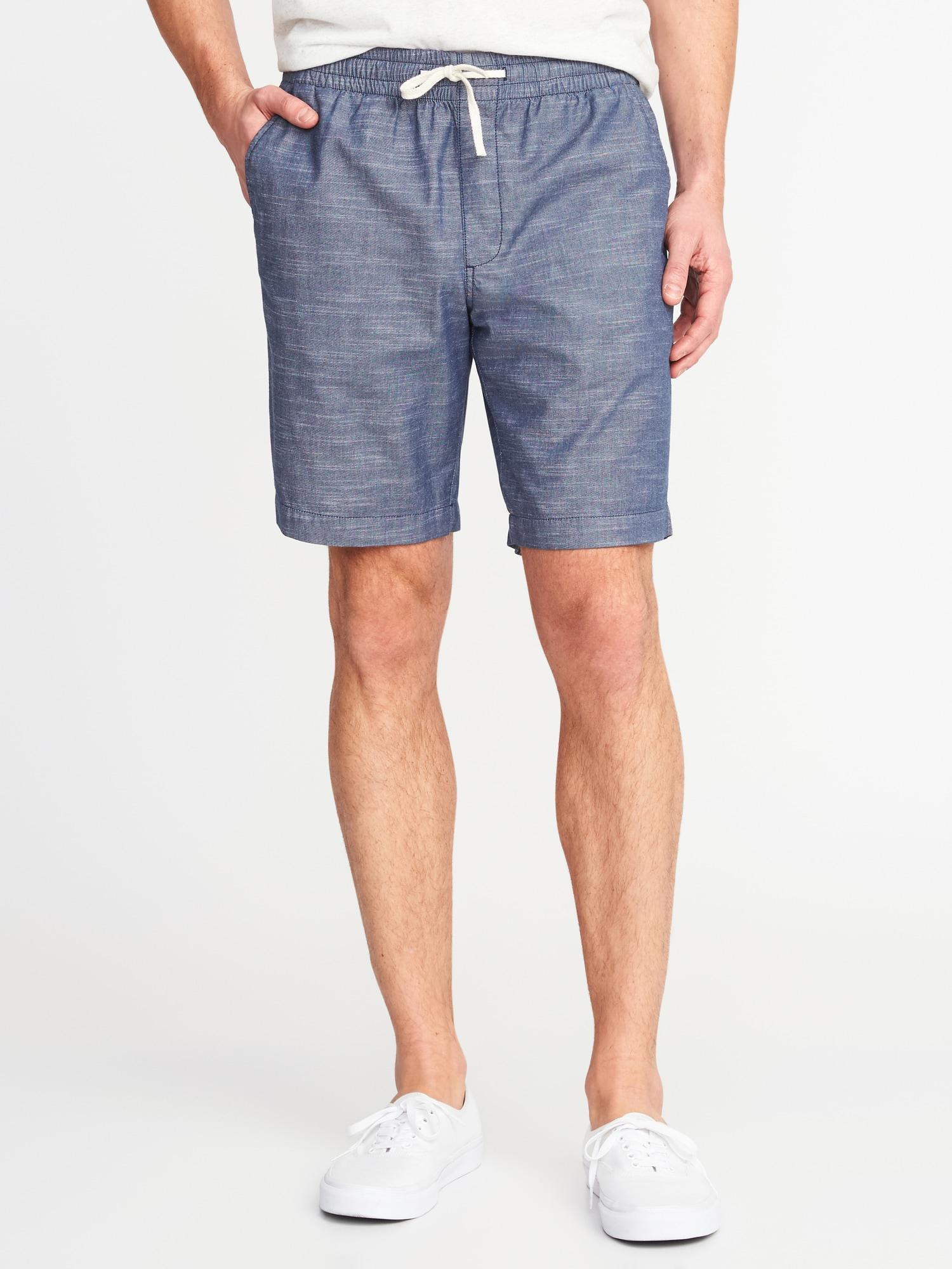 26281ad8fbc0 Old Navy Built-in Flex Drawstring Jogger Shorts in Blue for Men - Lyst