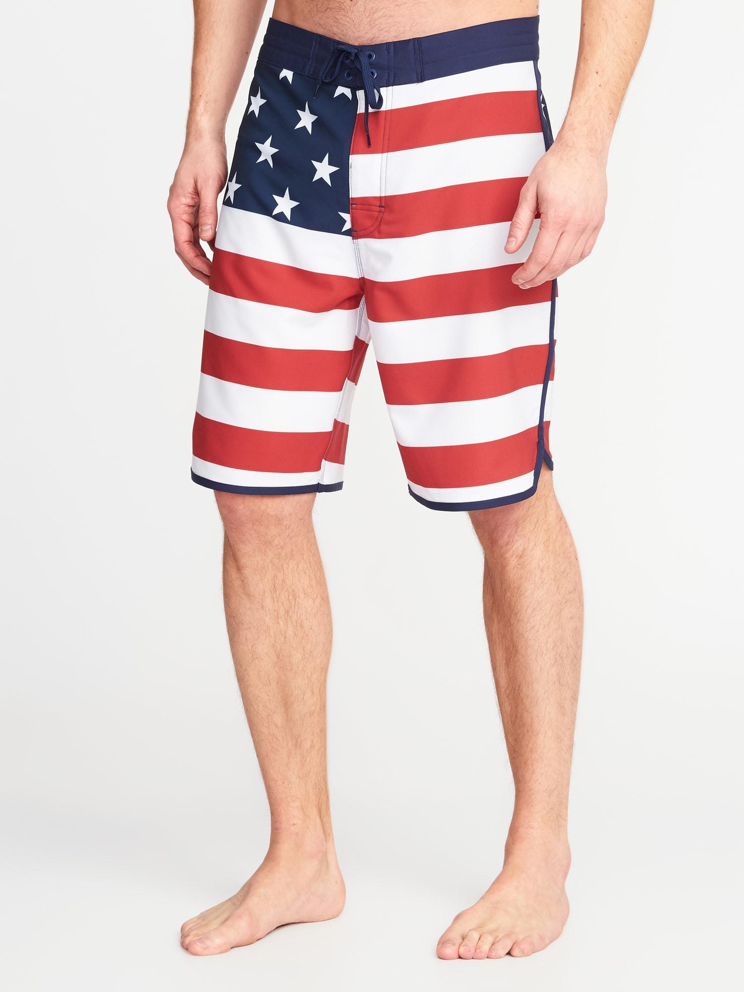 4b4e7e7a80 Old Navy Built-in Flex Printed Board Shorts in Red for Men - Lyst