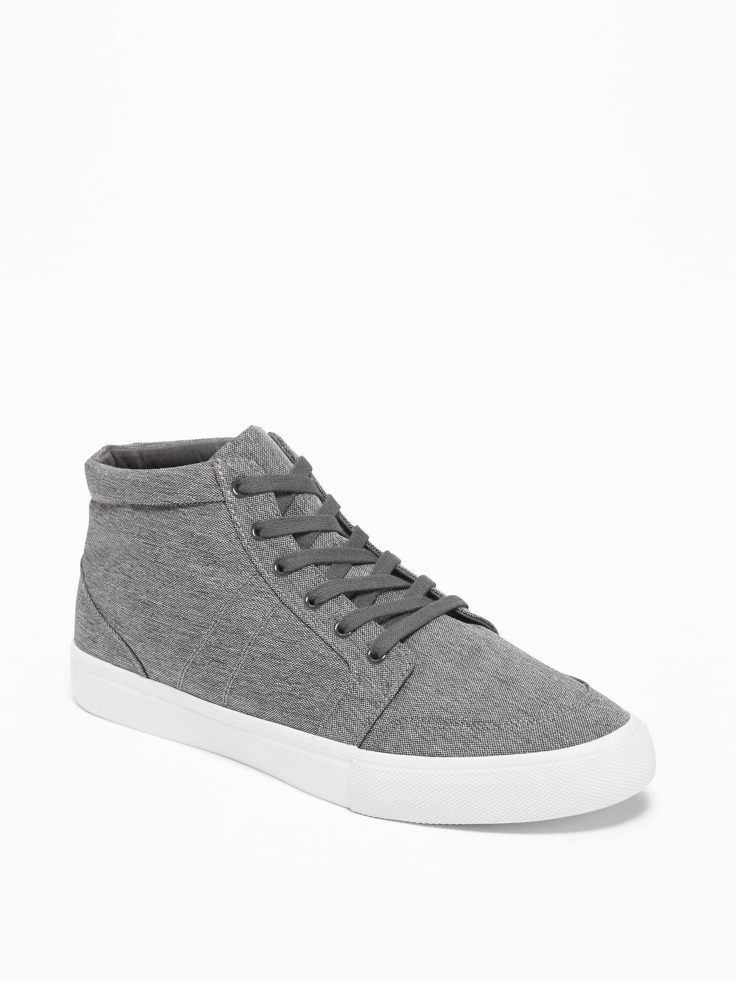 Old Navy Canvas Mid-top Sneakers in