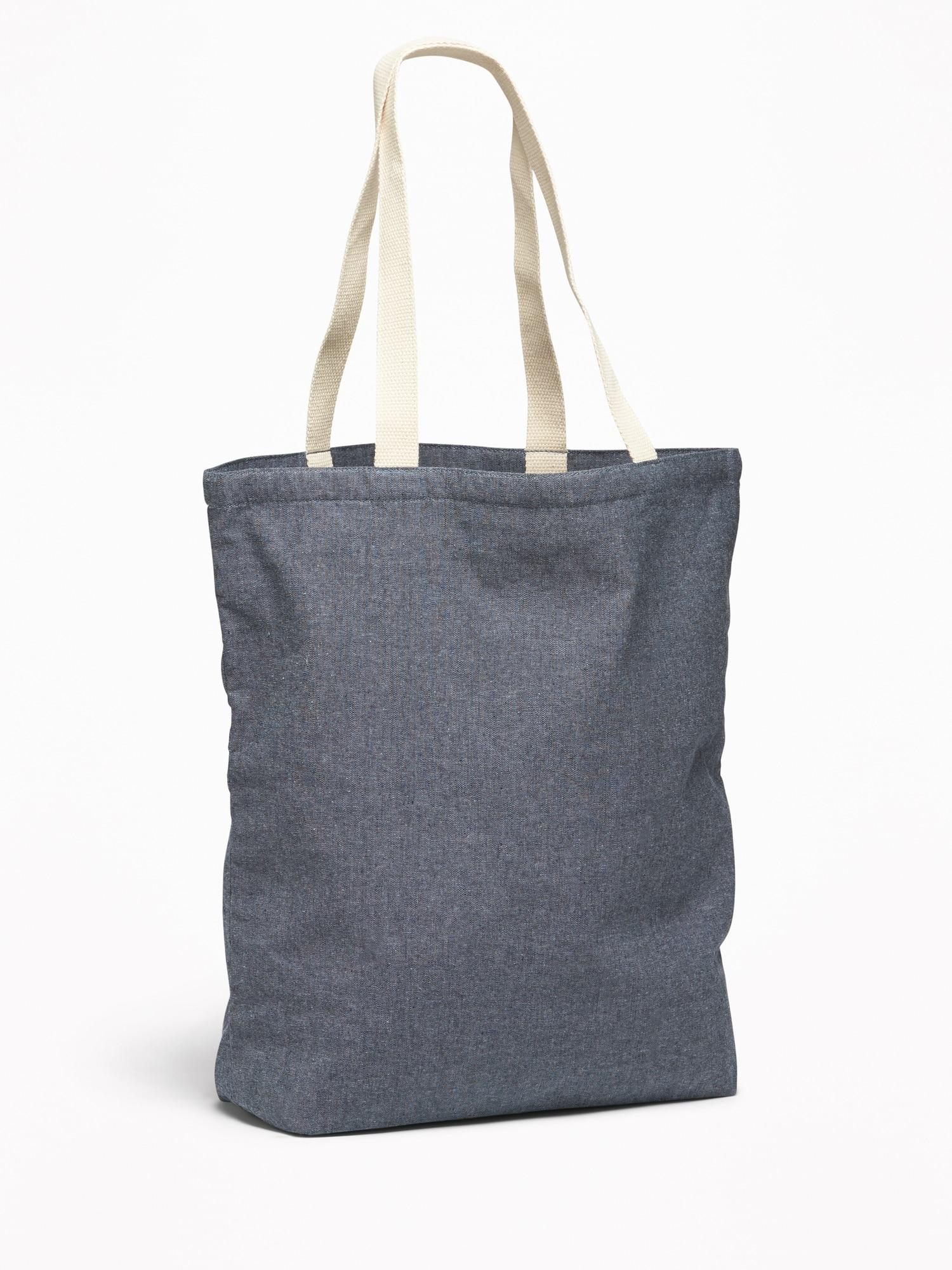Old Navy Canvas Chambray Tote For Women