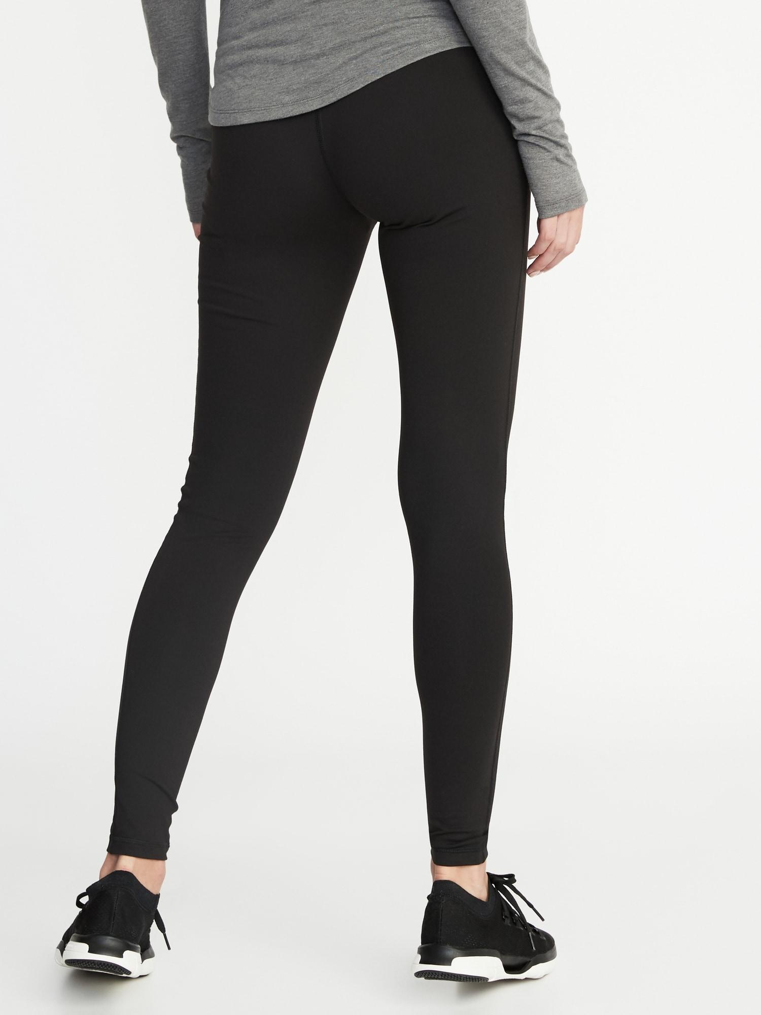 Old Navy Maternity Full Panel Elevate Compression Leggings In Black Save 19 Lyst