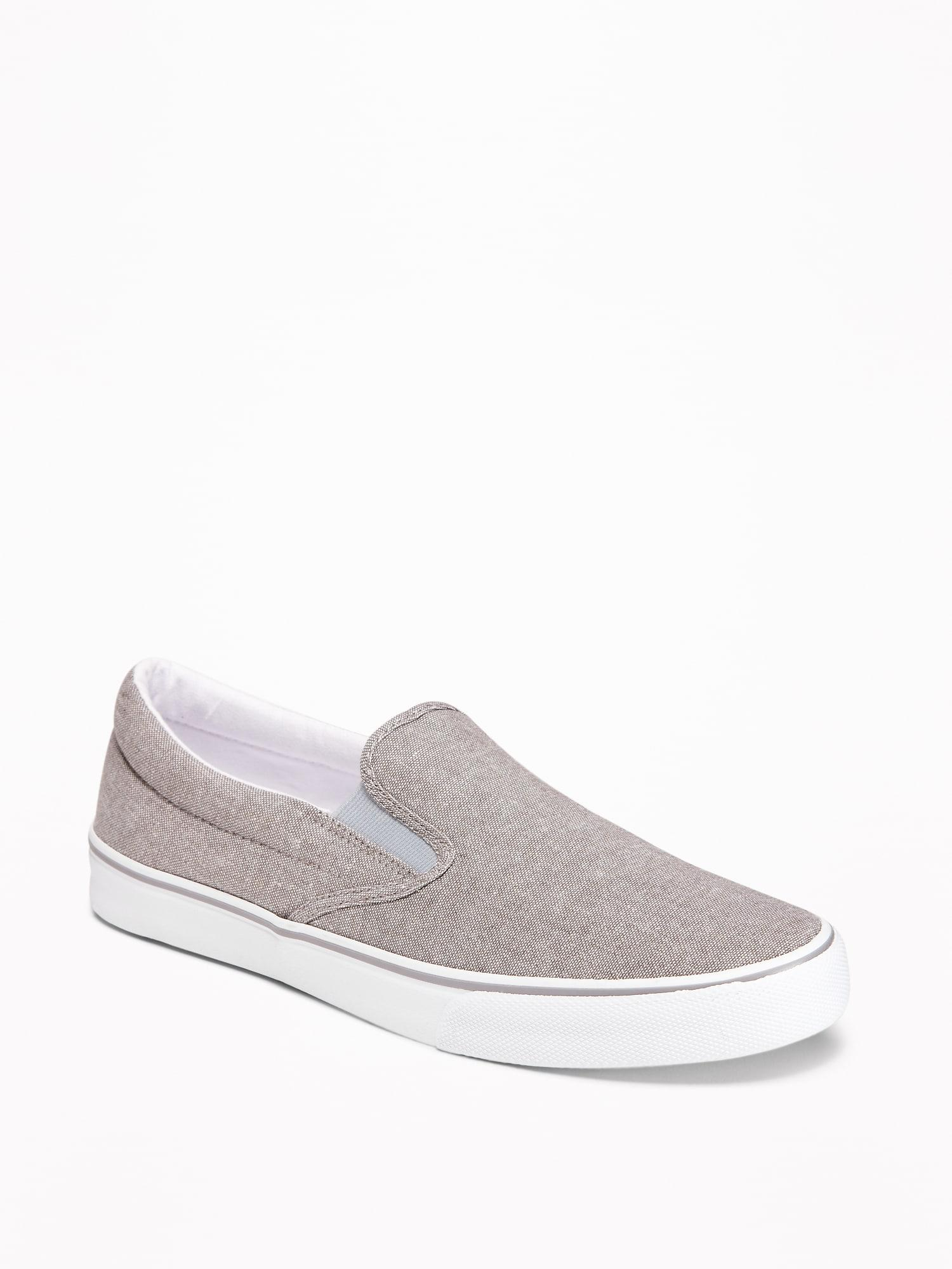 Old Navy Color-blocked Canvas Slip-ons