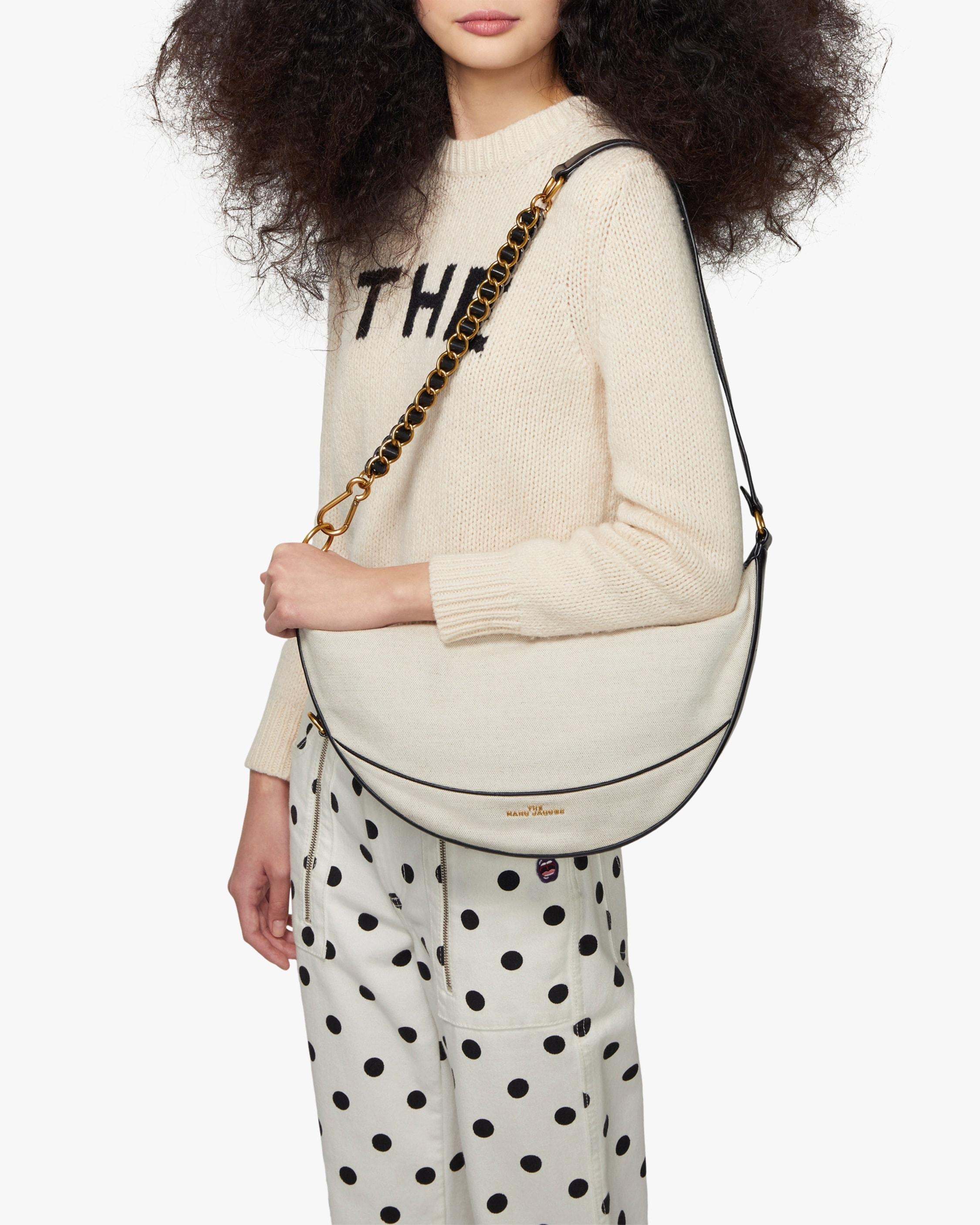Marc Jacobs Leather The Mini Eclipse Shoulder Bag in Natural - Lyst