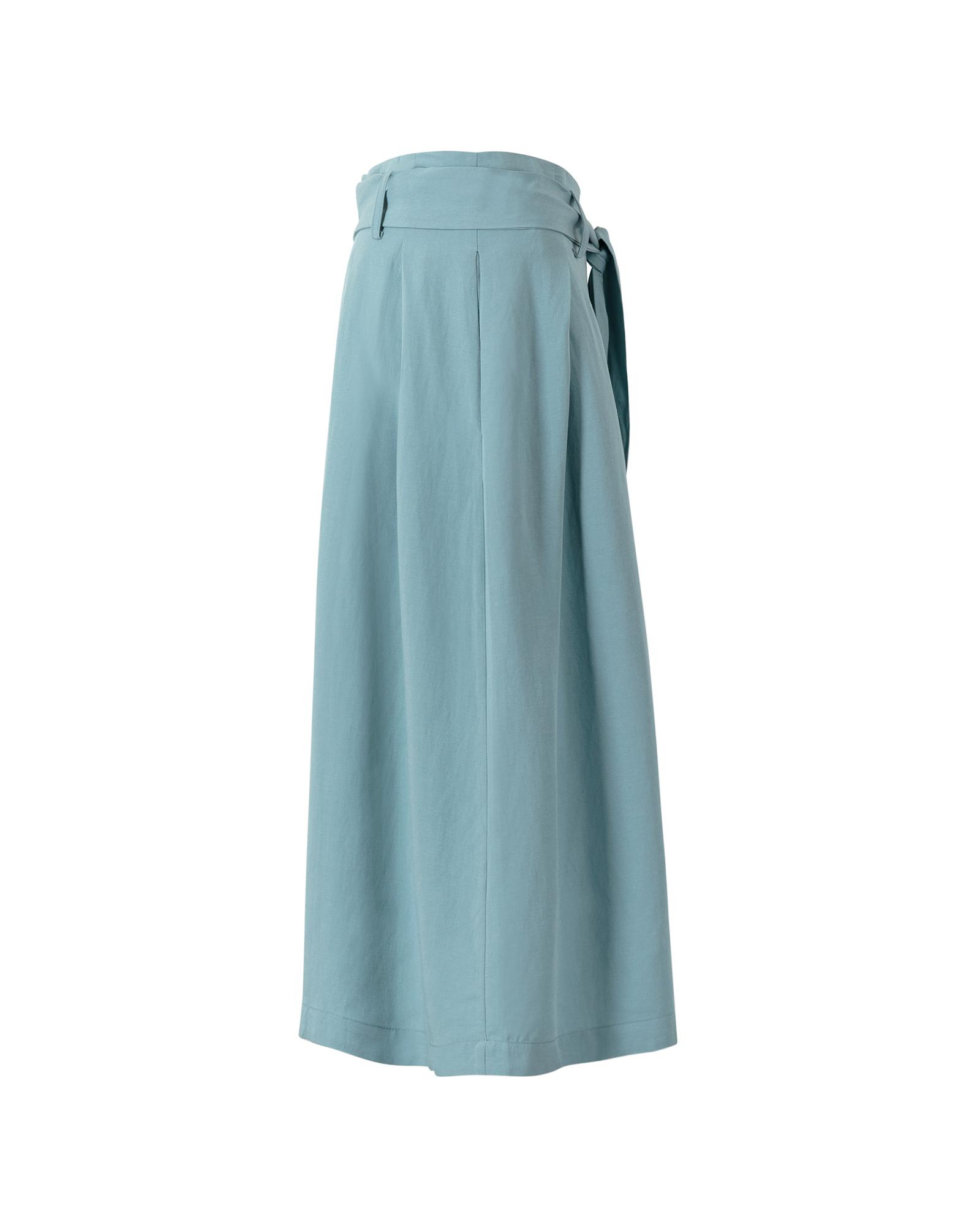 a2a36c3932 Lyst - Oliver Bonas Living Midi Skirt in Green