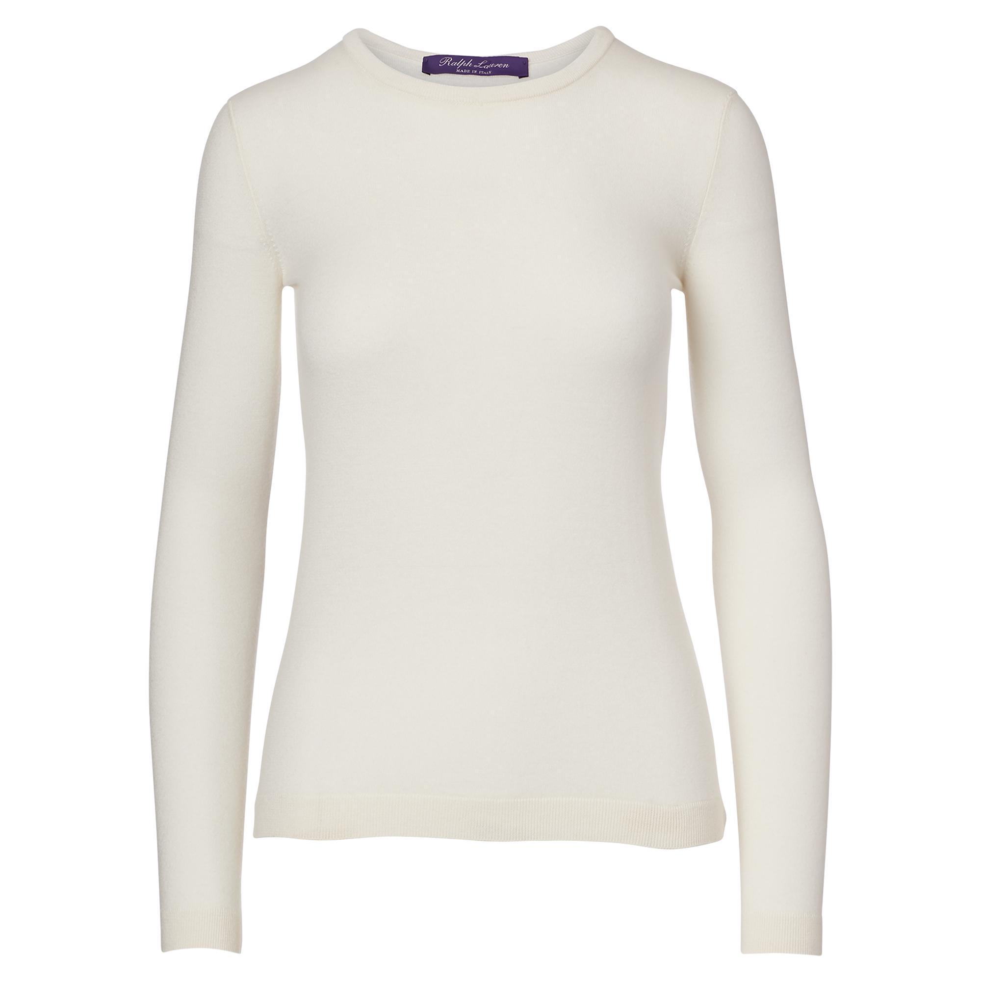 0badbb6dac4de7 Ralph Lauren Collection. Women s Cashmere Crewneck Sweater.  750 From  Orchard Mile ...