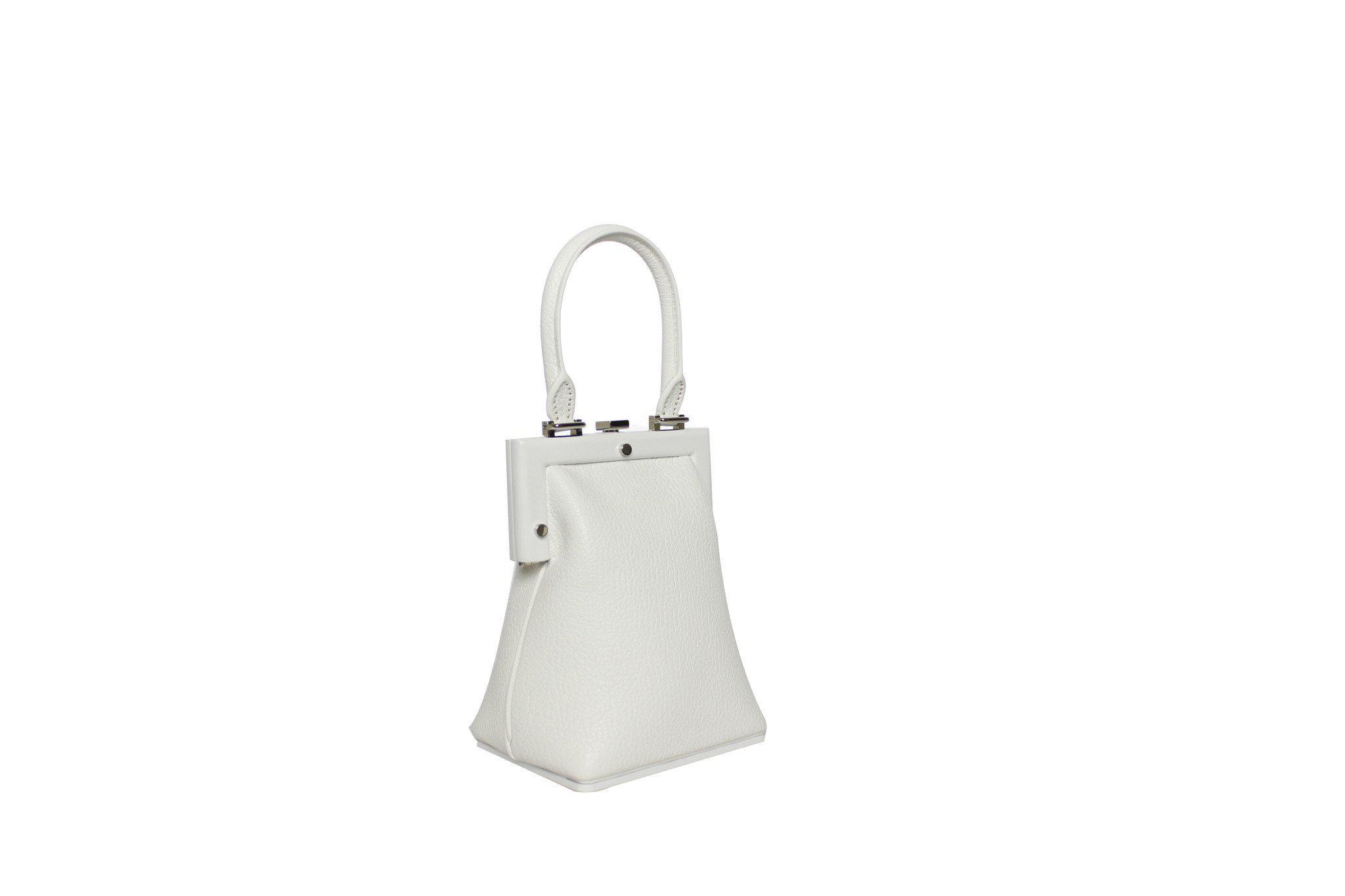 e3603f1586 Lyst - Perrin Paris La Minaudière in White