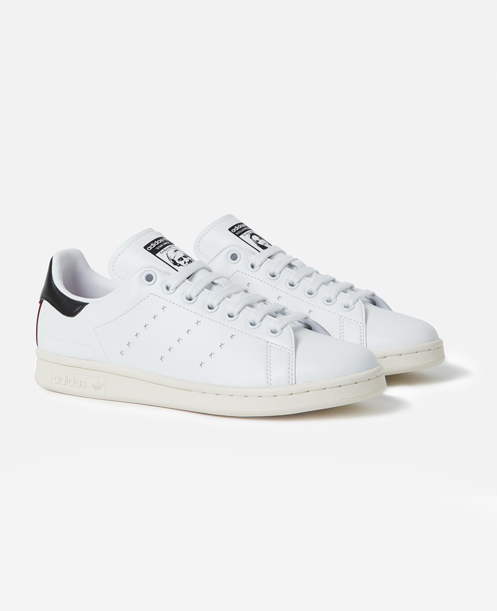 f4d50cbb538 Lyst - Stella McCartney Stella  stansmith Adidas Women in White - Save 3%