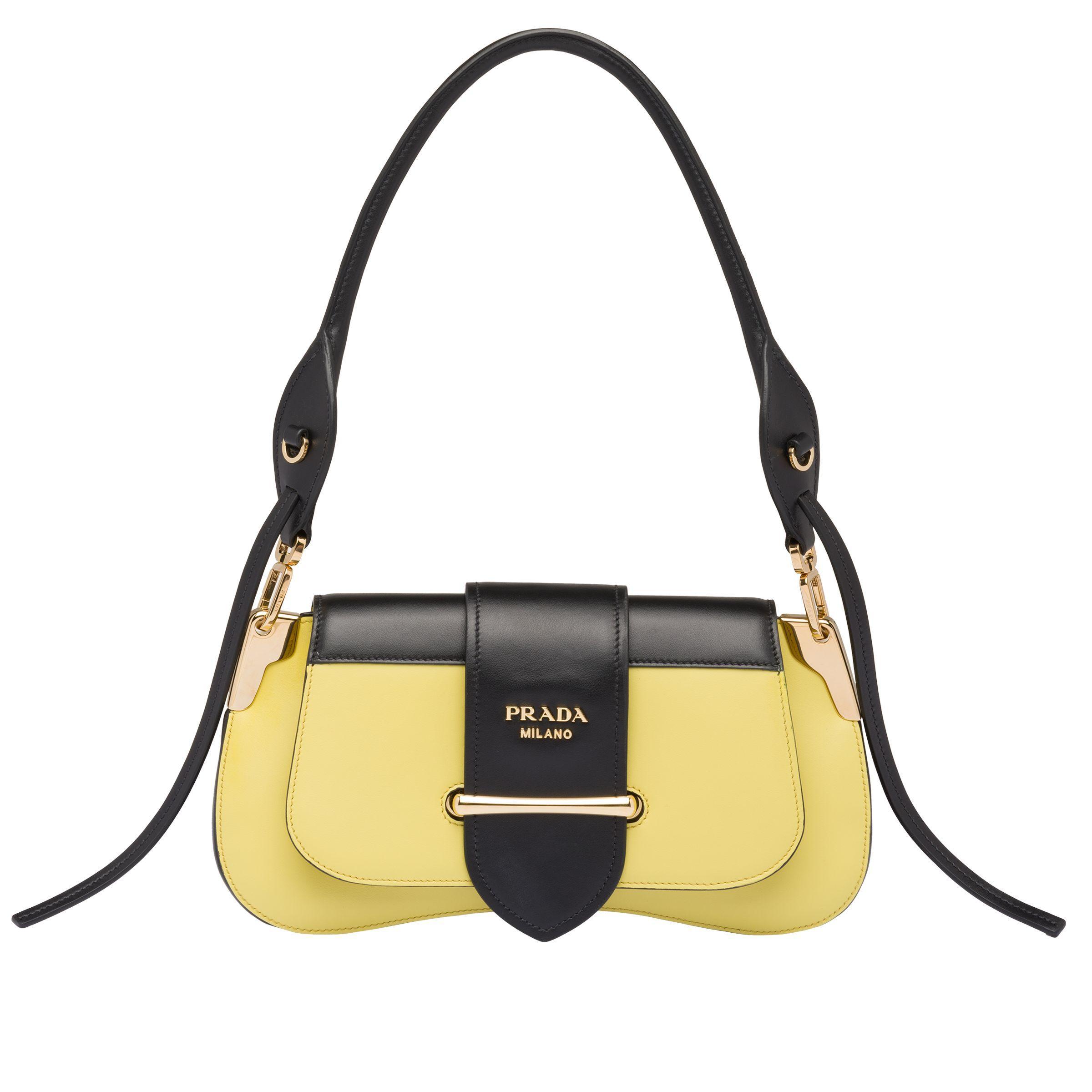 626a2d63fd2e14 Prada. Women's Sidonie Leather Shoulder Bag