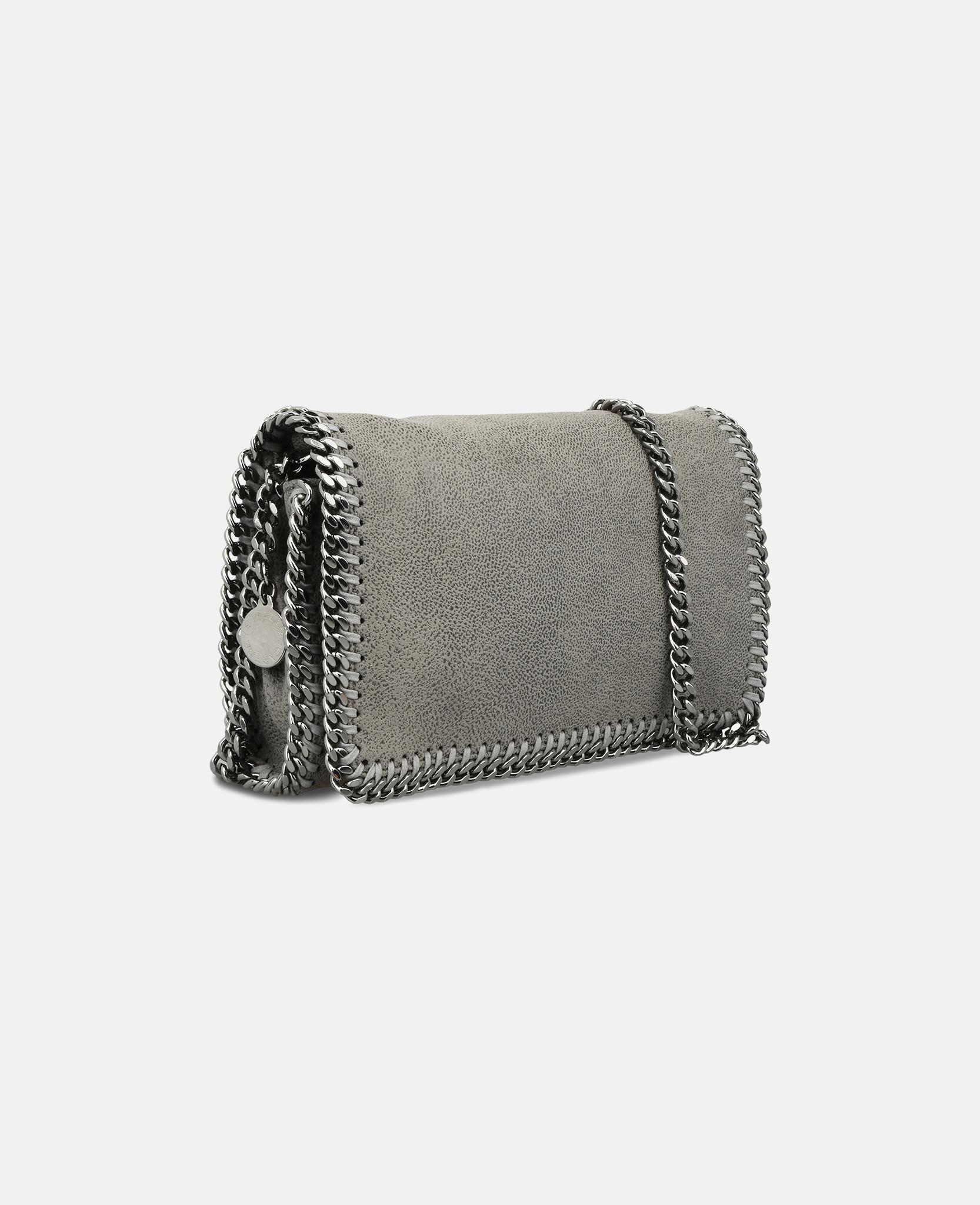 663f27f8f79e3 Lyst - Stella McCartney Black Falabella Cross Body Bag in Gray
