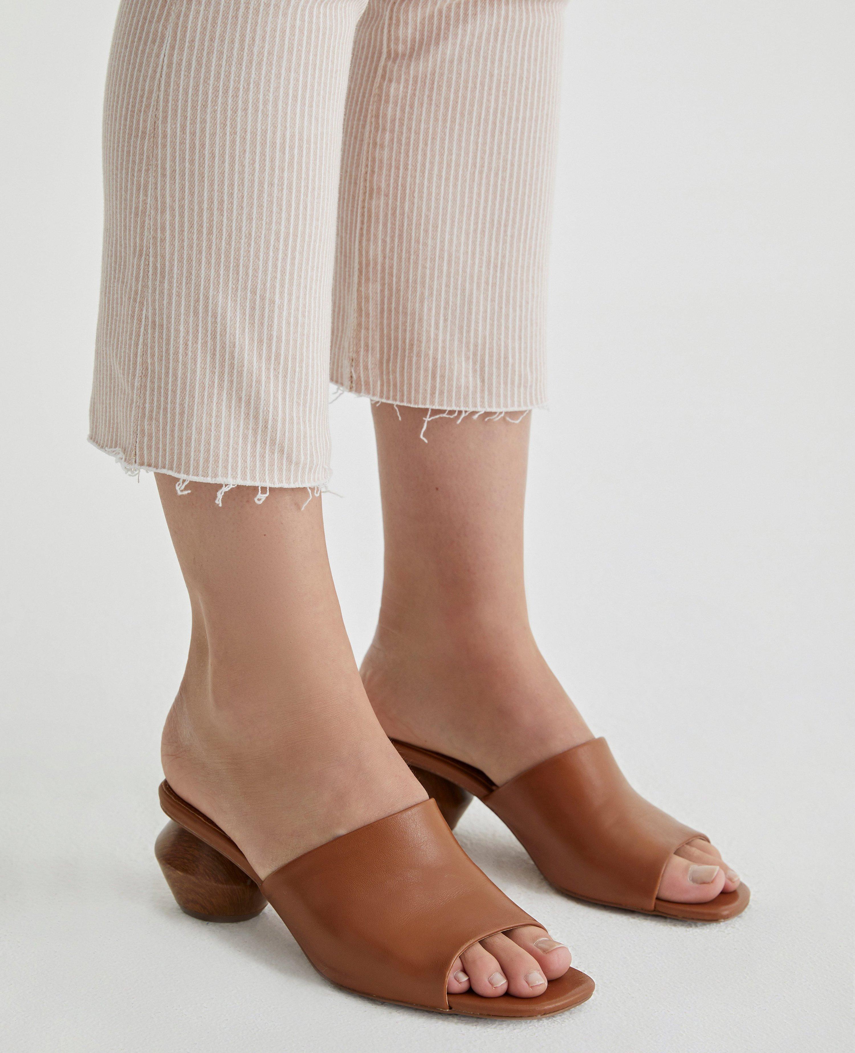 PAIGE Womens Lori Ankle W//Velvet Welt Zip Summer Sand