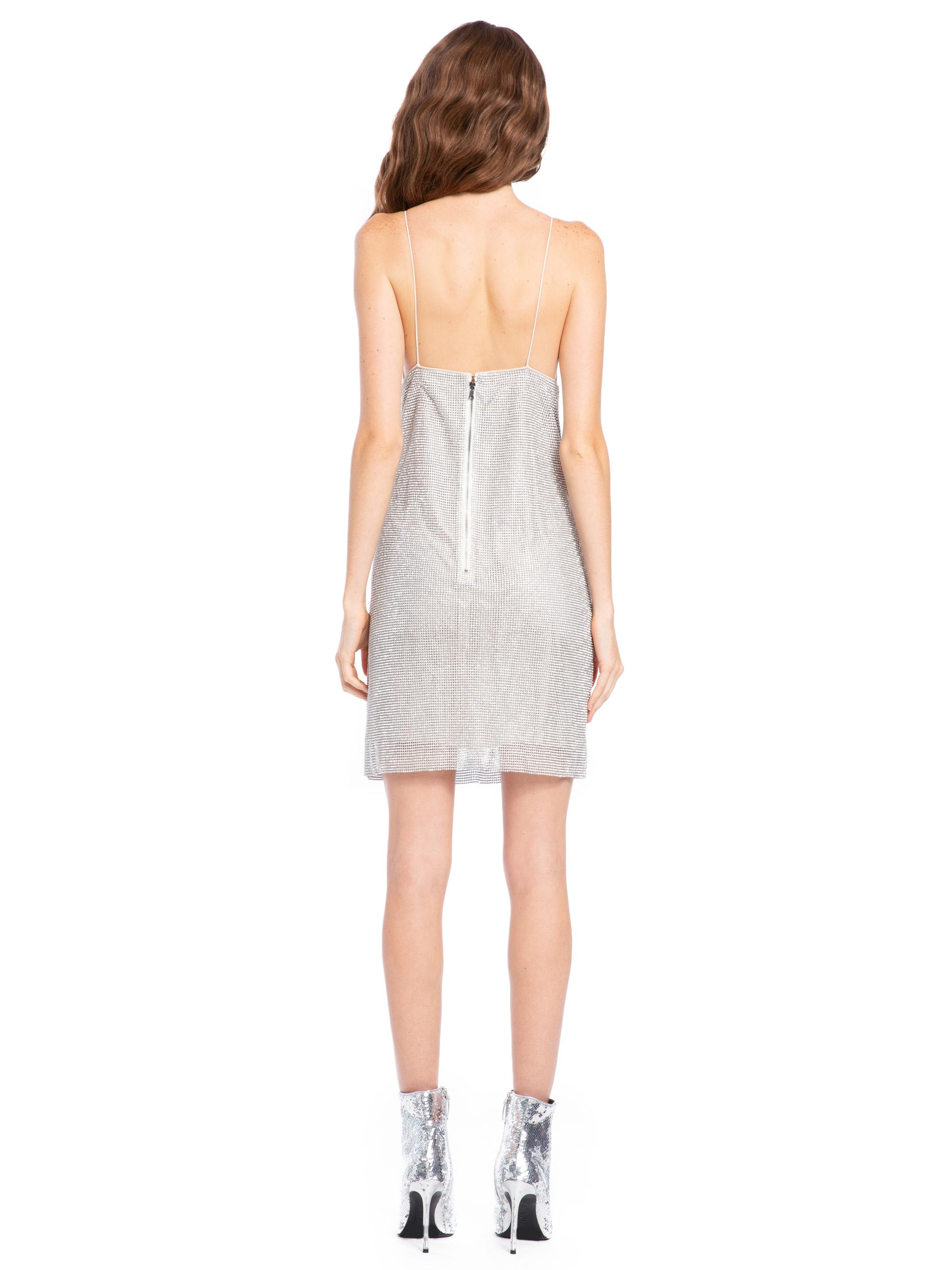 b150c3723d4 Alice + Olivia - Multicolor Harmony Chainmail Mini Dress - Lyst. View  fullscreen