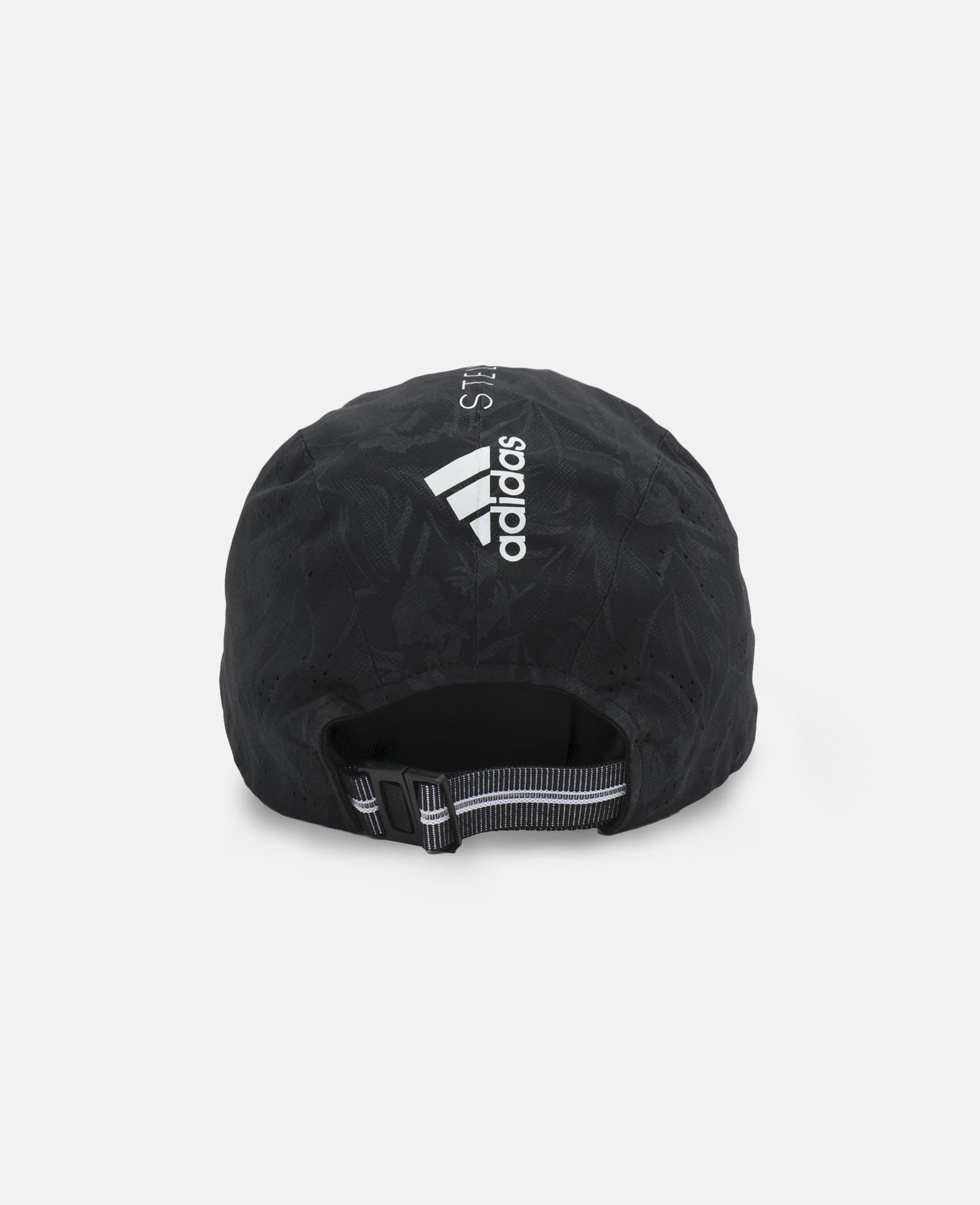 8e23cbd3a649b Lyst - adidas By Stella McCartney Black Running Cap in Black