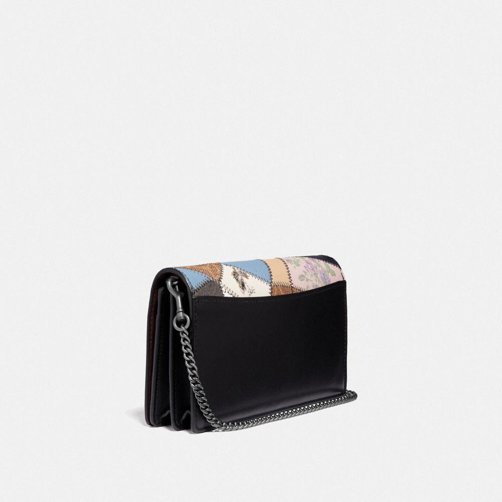 ebd7ac7b70a2 COACH - Multicolor Callie Foldover Chain Clutch With Signature Patchwork -  Lyst. View fullscreen