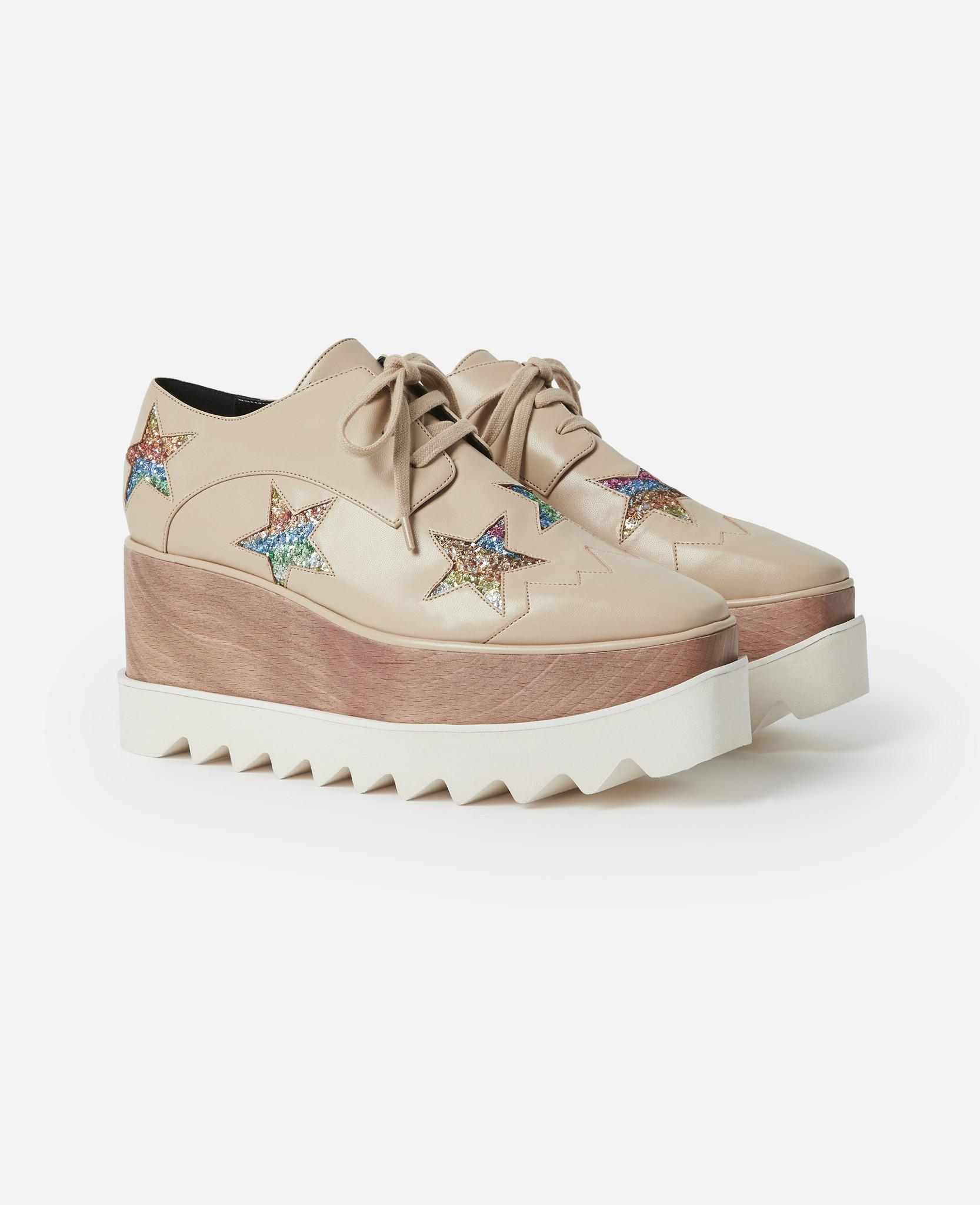 e465c7451ffb Lyst - Stella McCartney Elyse Beige Shoes in Natural