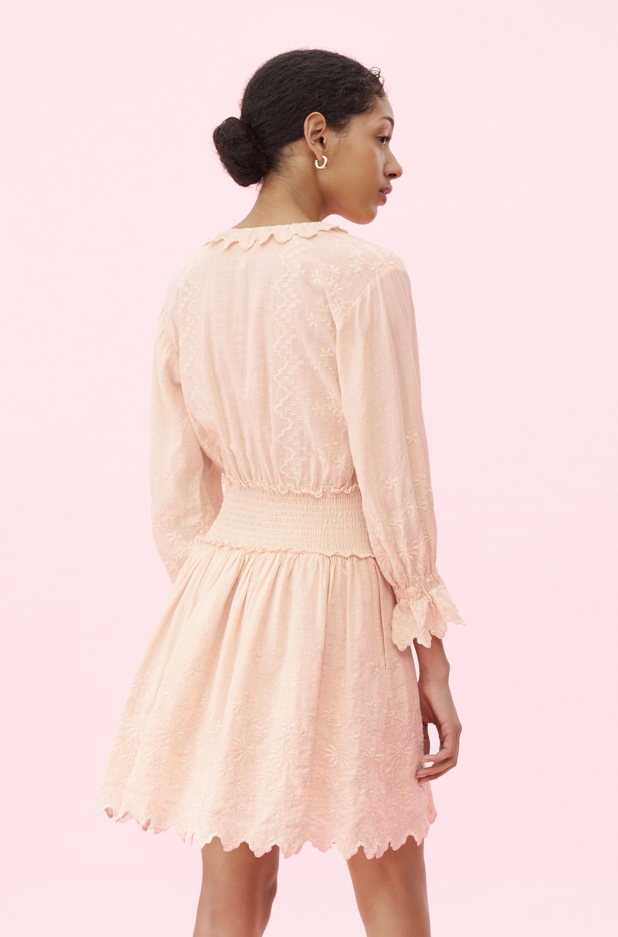 c7c2890c38830 Rebecca Taylor - Multicolor La Vie Embroidered Voile Dress - Lyst. View  fullscreen