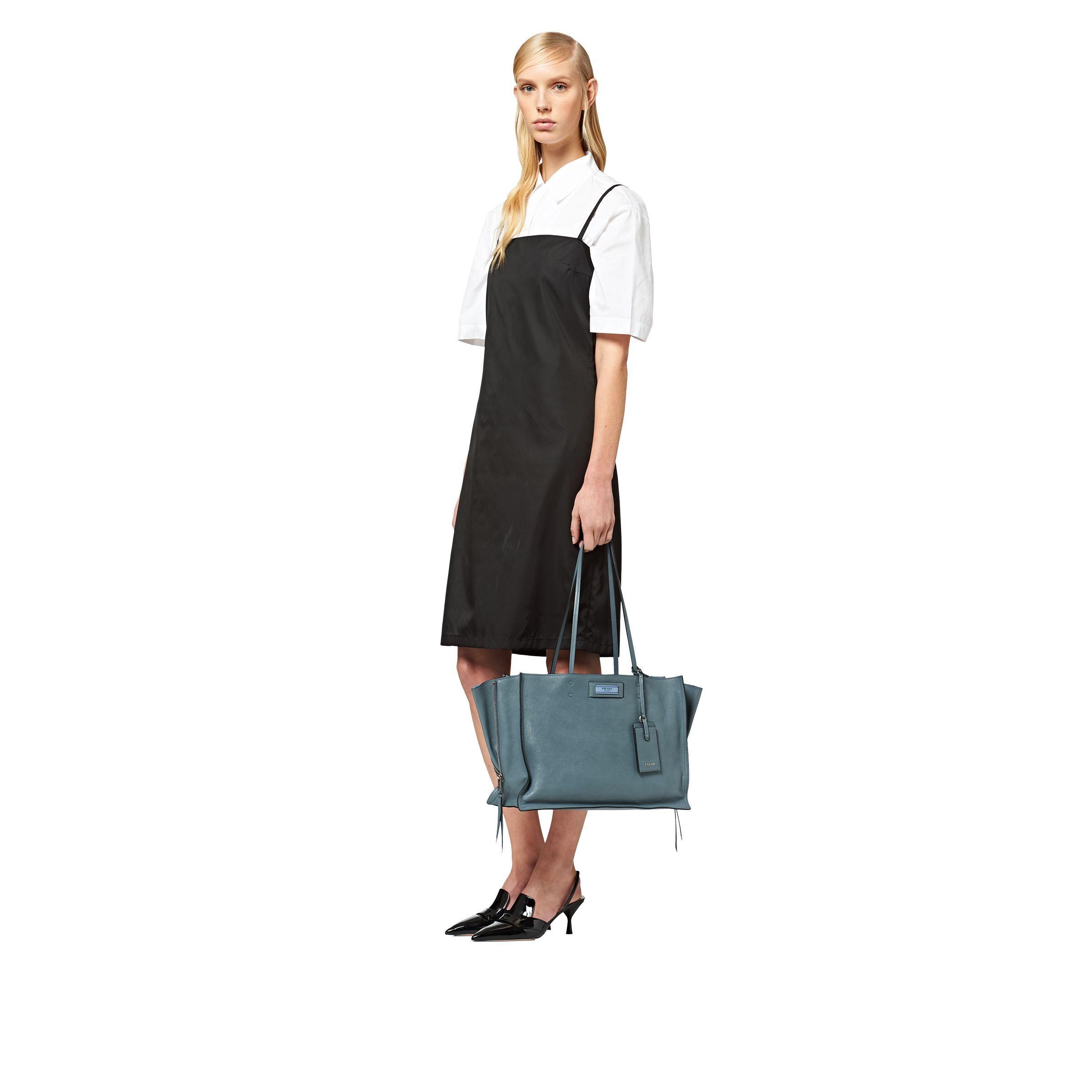 d153761676fc Prada - Blue Etiquette Bag - Lyst. View fullscreen