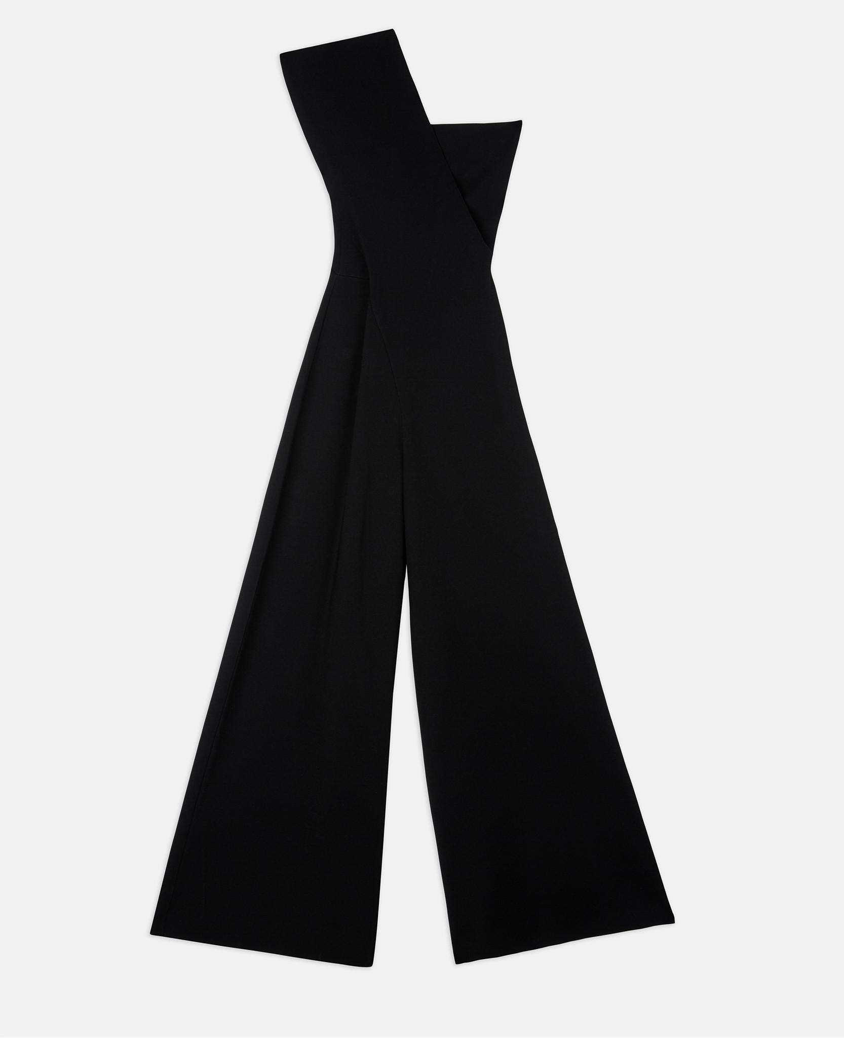 5e036d3b5642 Lyst - Stella McCartney Black Compact Knit Jumpsuit in Black