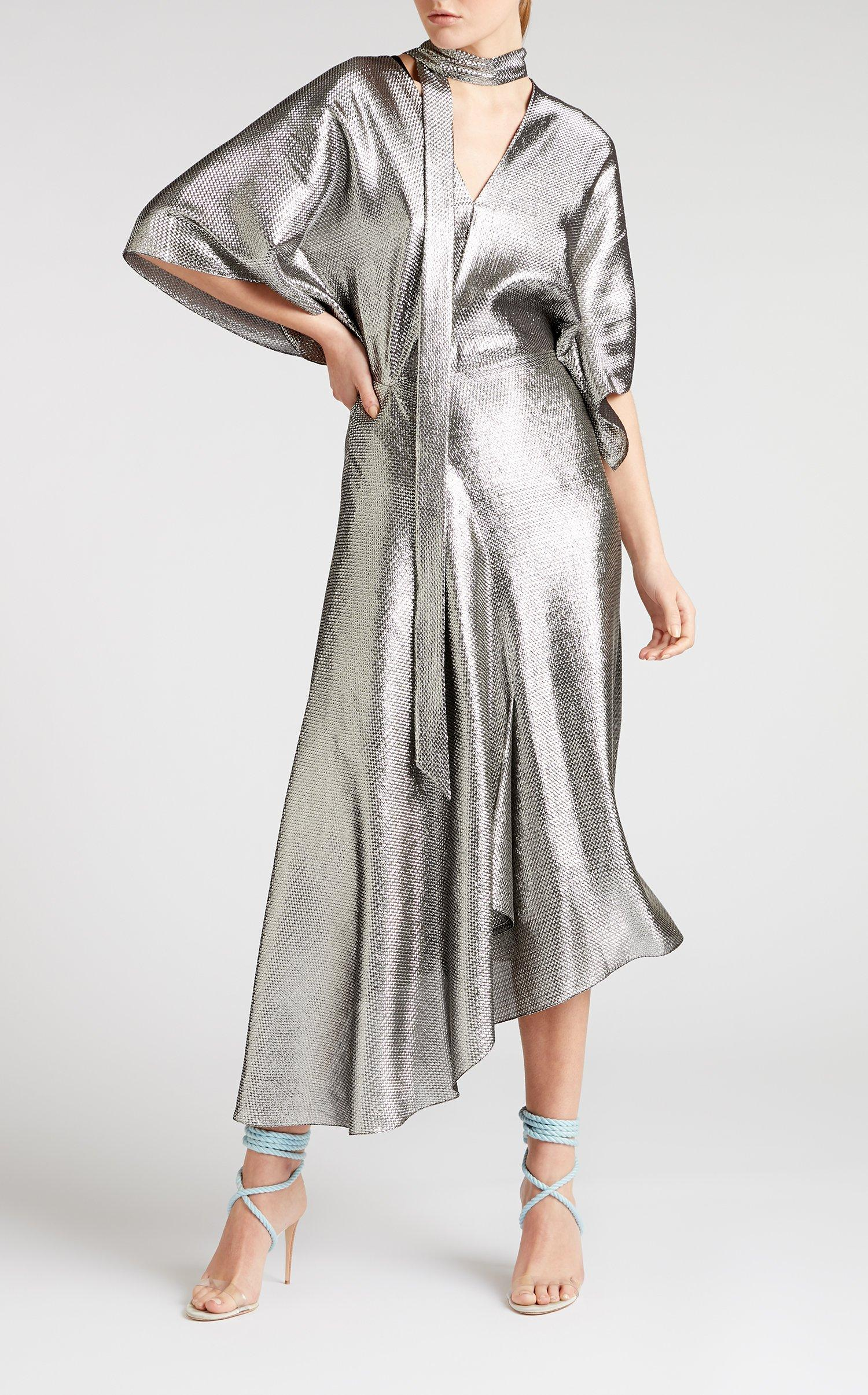 321dd49a903 Roland Mouret. Women s Metallic Meyers Dress.  3