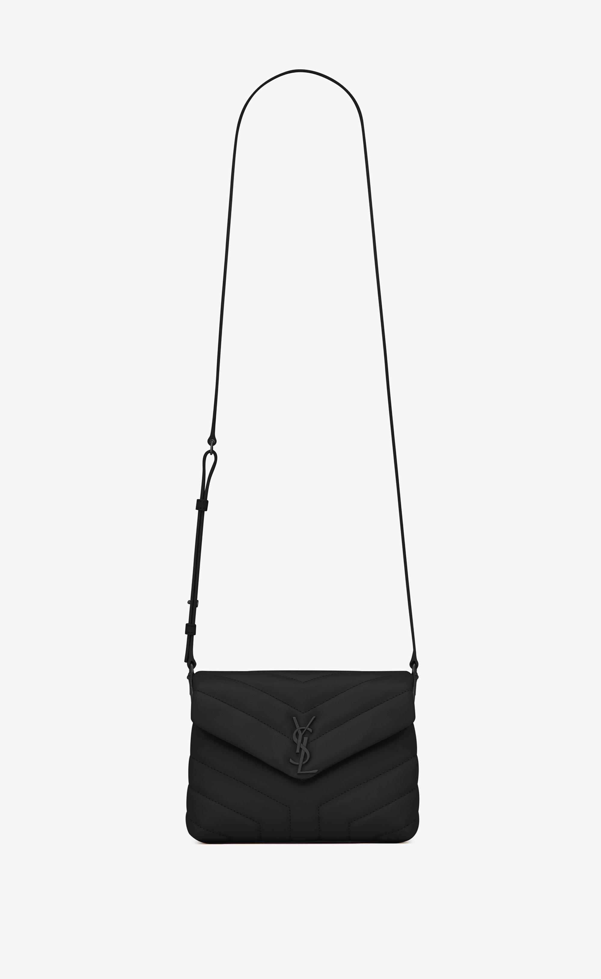 c96bc50b5e7d Lyst - Saint Laurent Loulou Toy Bag in Black