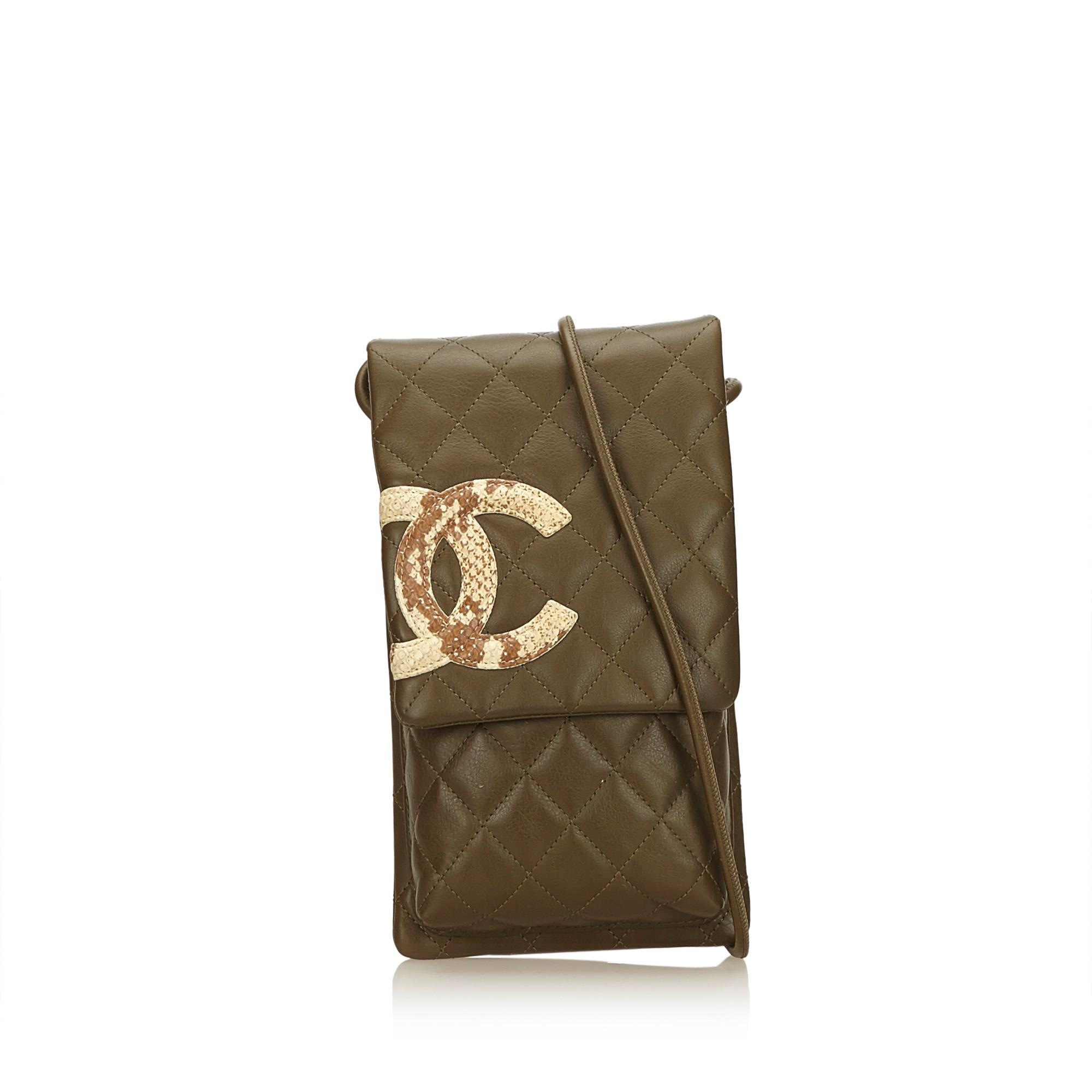 76942101d71c74 Chanel Cambon Ligne Crossbody Bag in Brown - Lyst