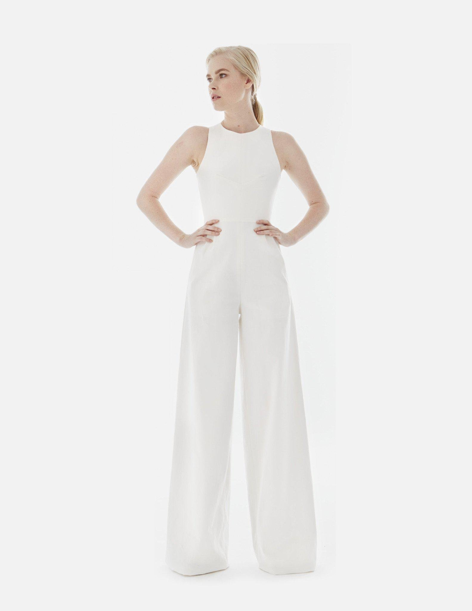 1102bfc279 Lyst - Novis The Caprice Jumpsuit in White