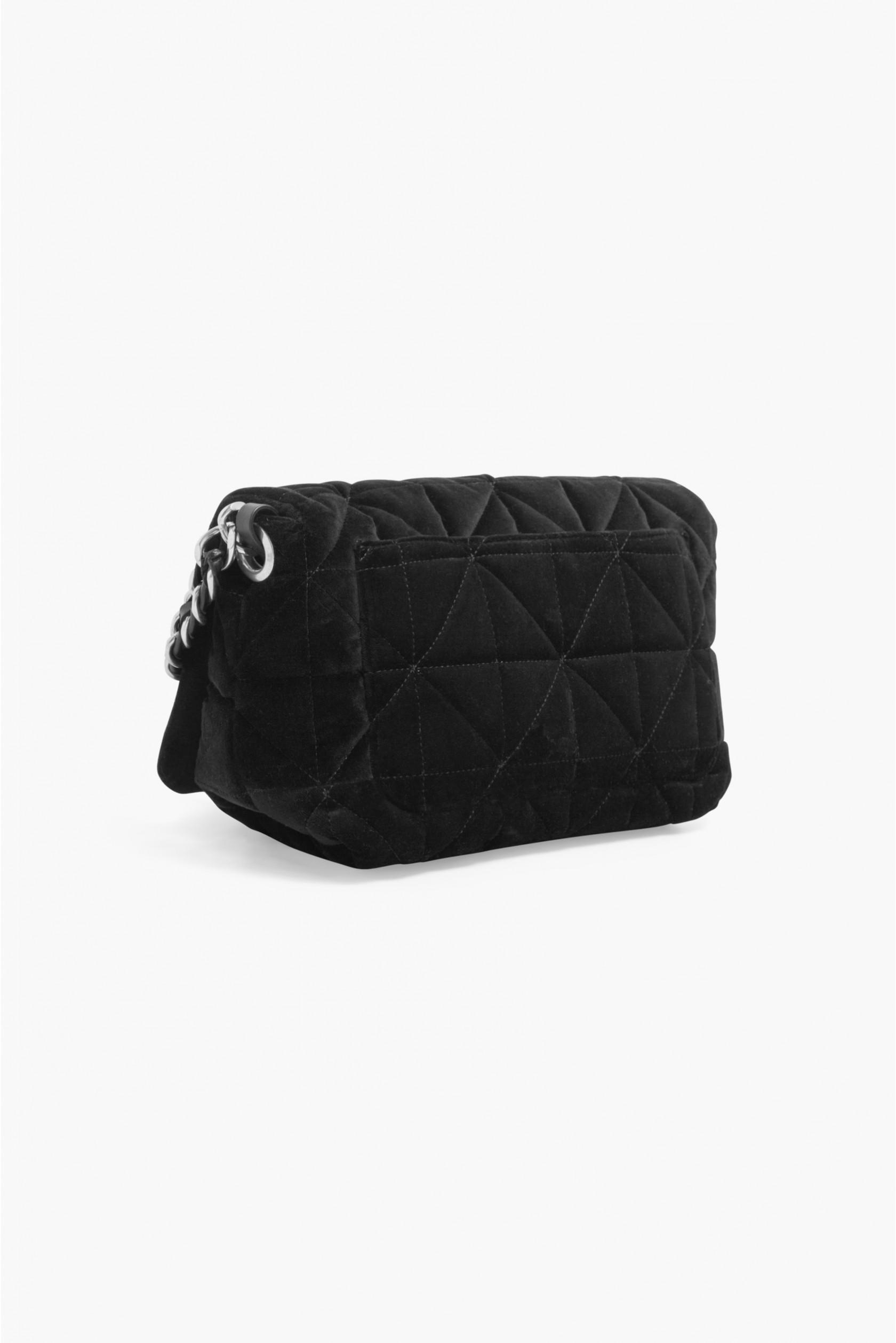 bd0e30cf6c Sonia Rykiel - Black Le Copain Large Velvet Bag - Lyst. View fullscreen