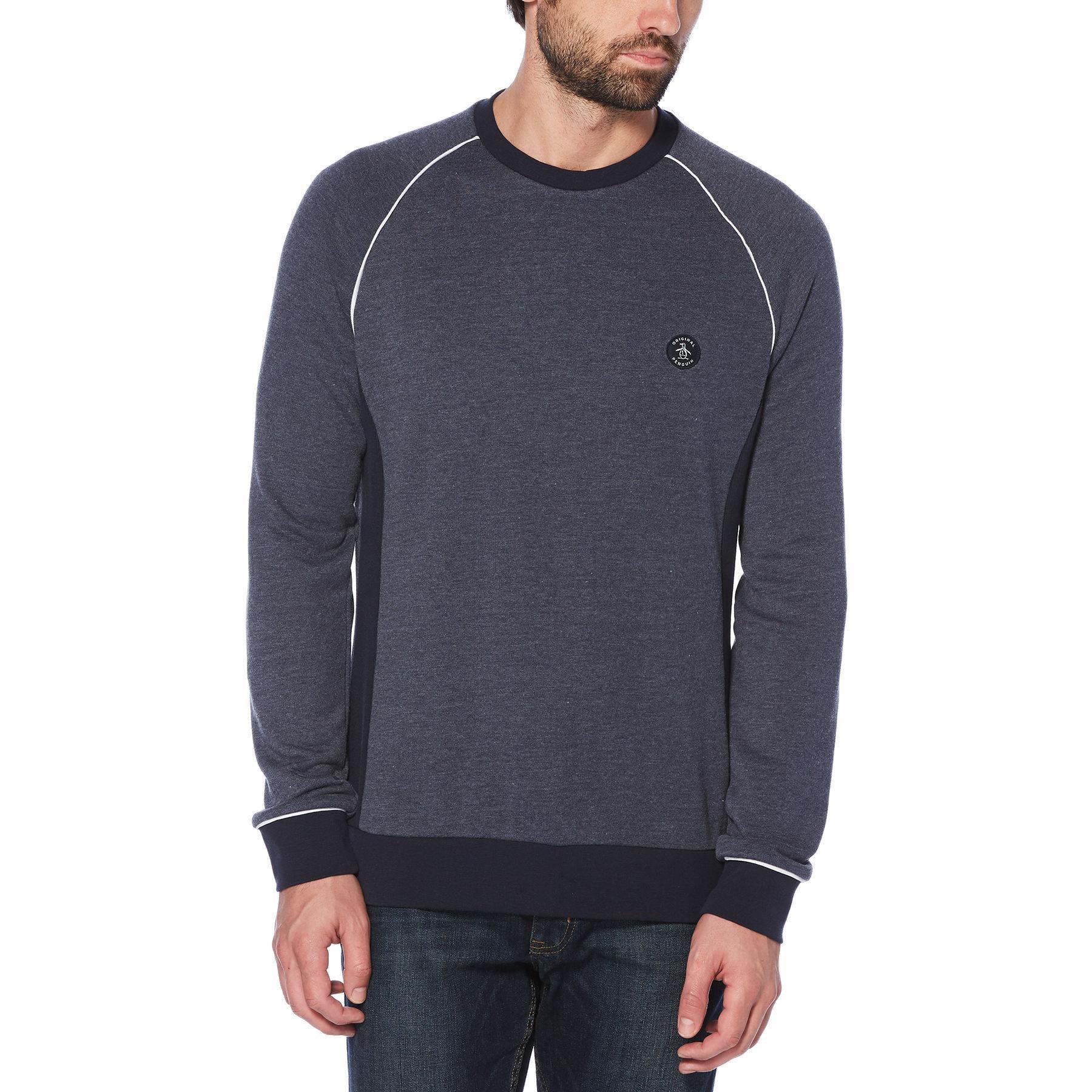 Original Penguin Mens Long Sleeve Logo Sweatshirt