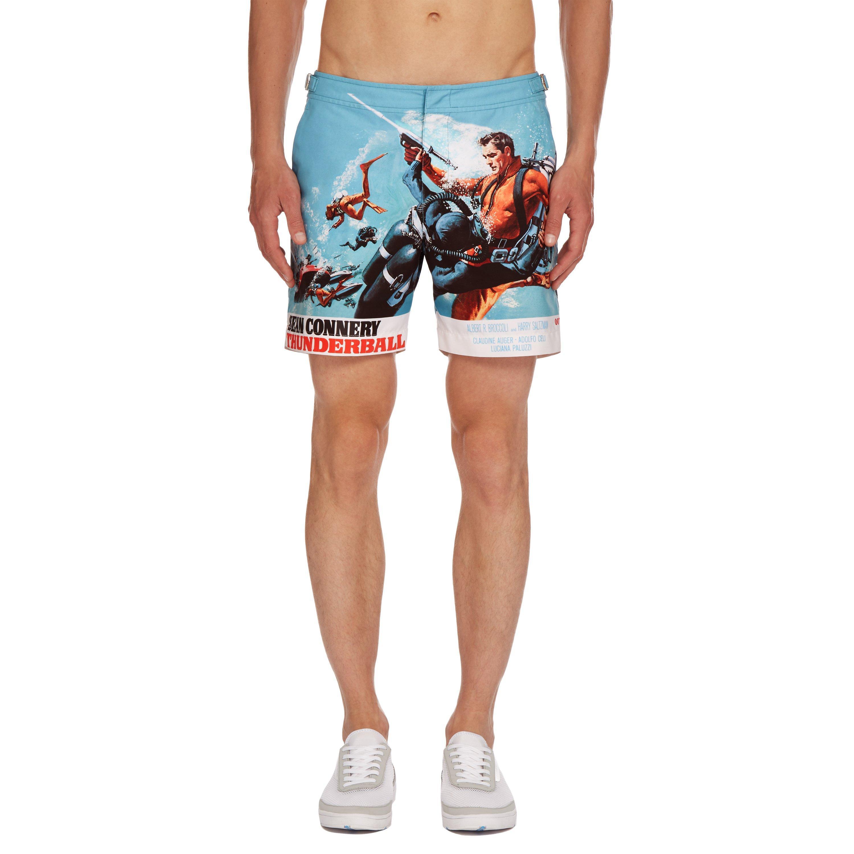Mens Swim Trunks Caterpillar Japanese Style Beach Shorts Quick Dry Mesh Lining Board Shorts Swimwear with Pockets