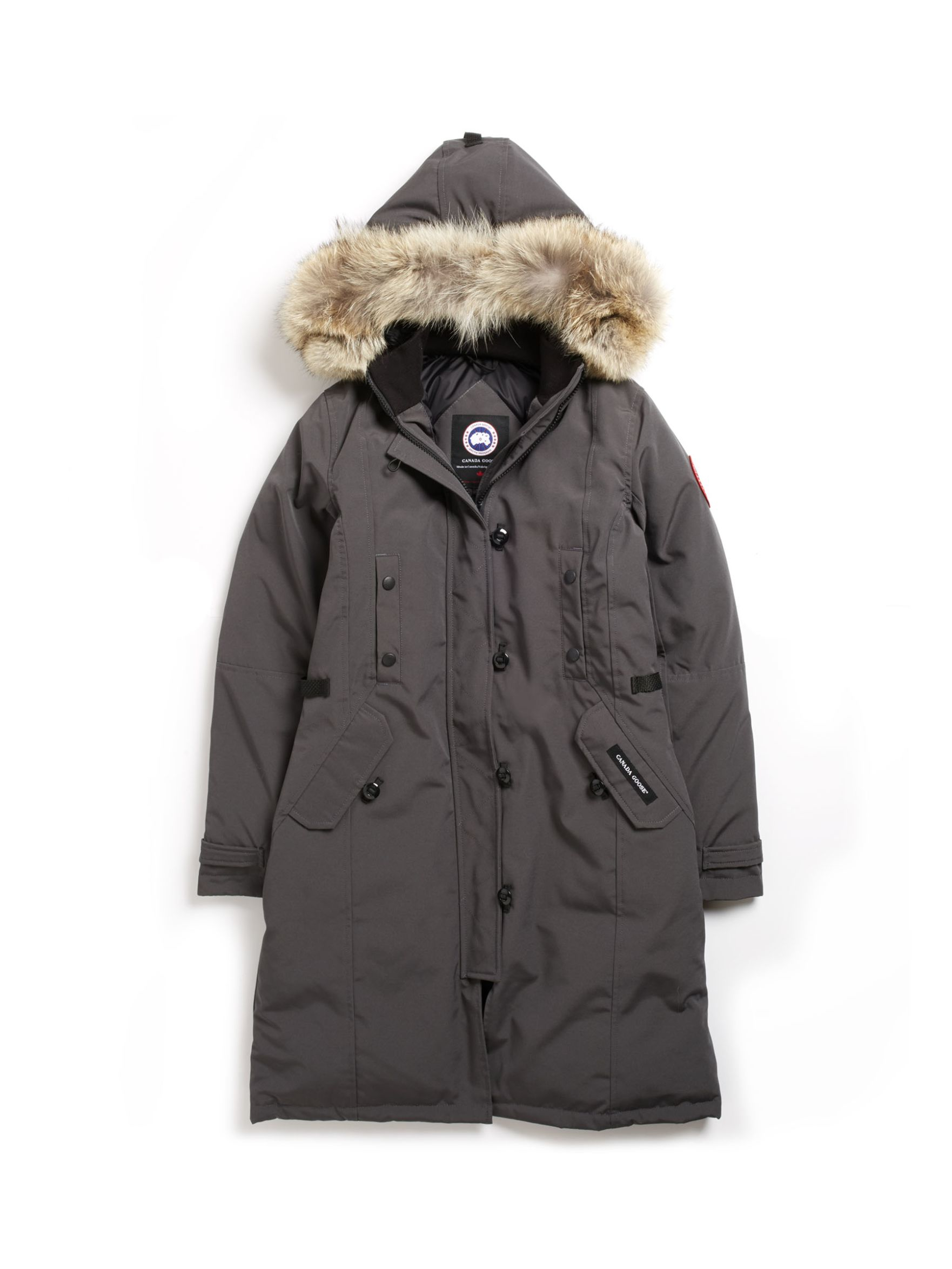 how to clean white canada goose jacket
