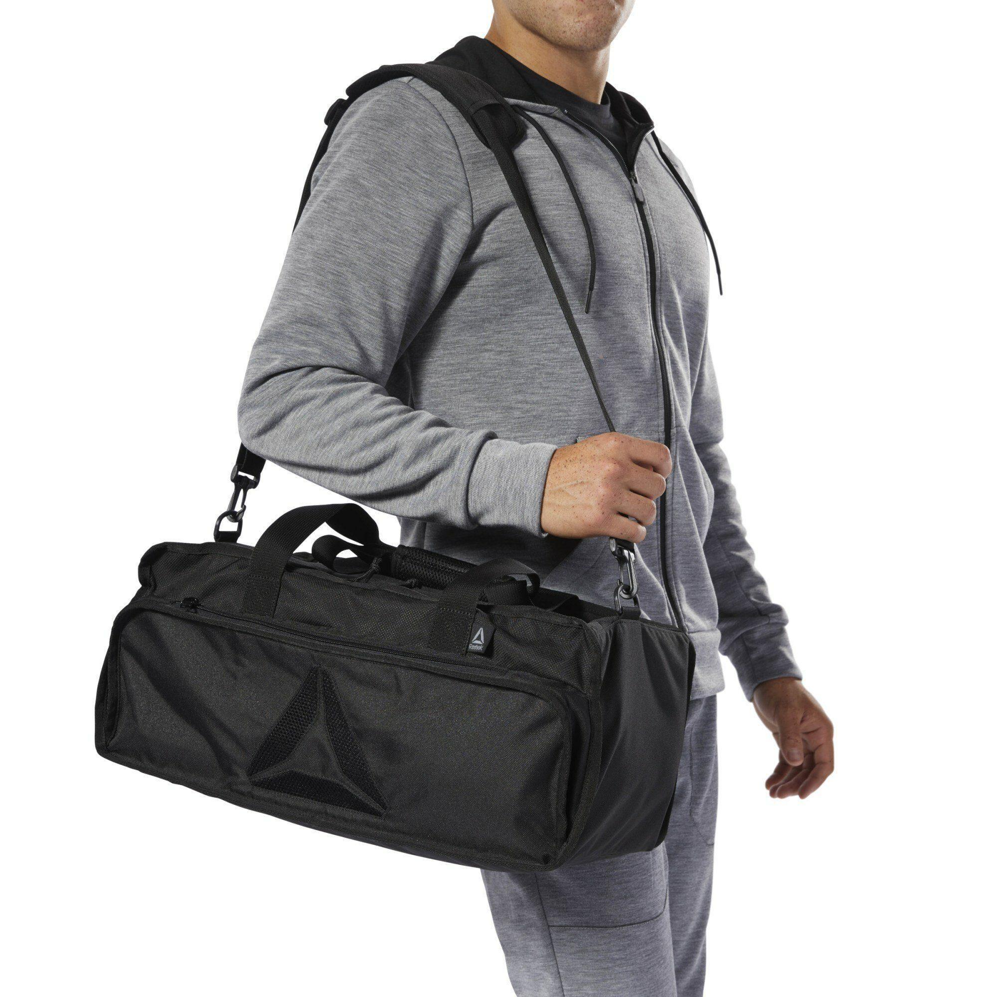 Reebok Sporttasche »Active Enhanced Grip Bag Medium« in Schwarz 3OEgW