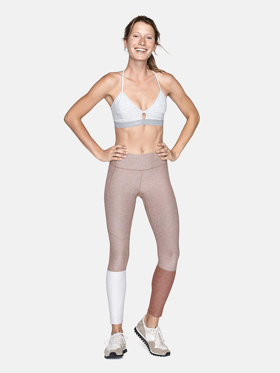 75a7ccc526934 Outdoor Voices Dipped Warmup Legging - Lyst