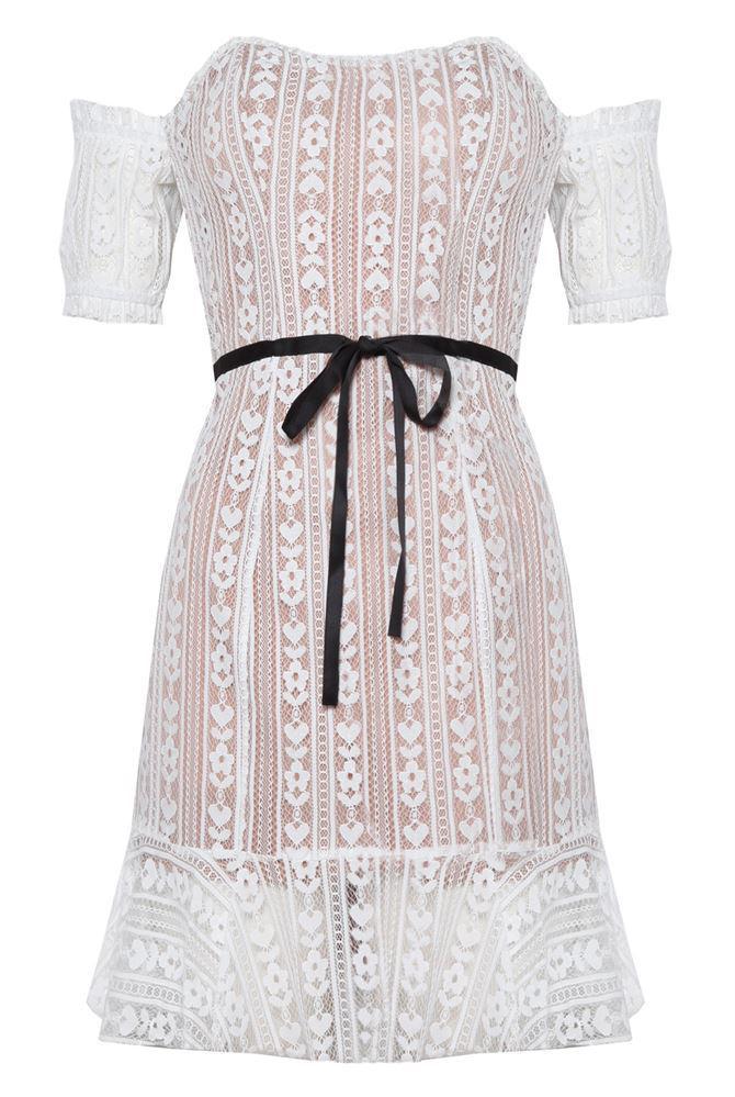 Dakota Lace Mini Dress