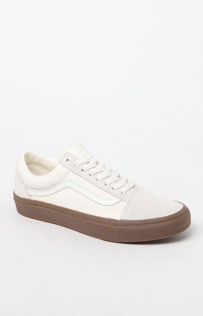 Vans Rubber Old Skool Gum Sole White