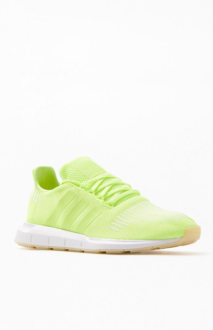 Neon Yellow Swift Run Shoes