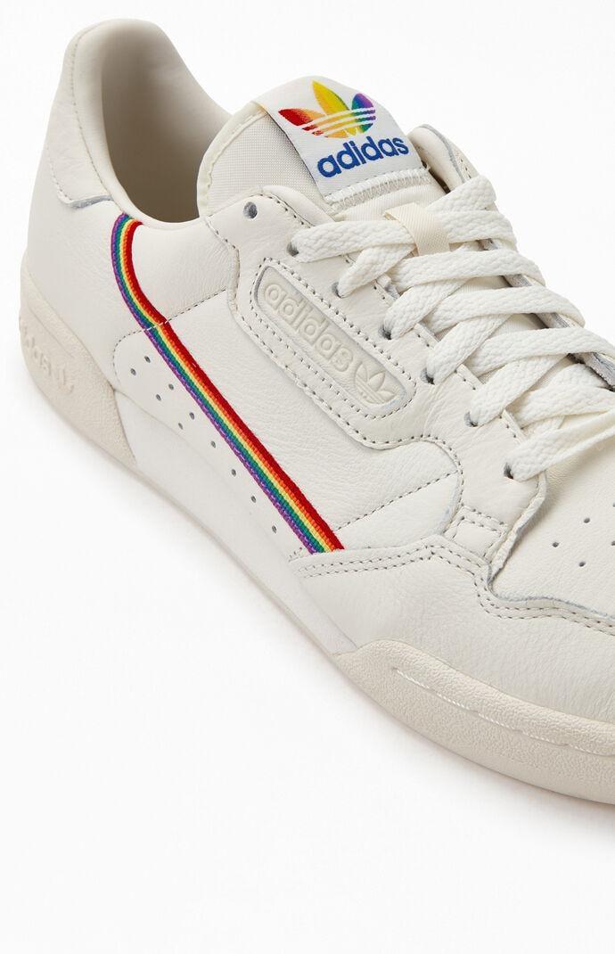 Pride Rainbow Stripe Continental 80 Shoes