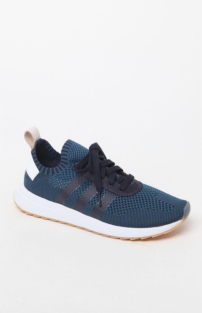 size 40 1e1ed b721e Lyst - Adidas Womens Flashback Sneakers in Blue