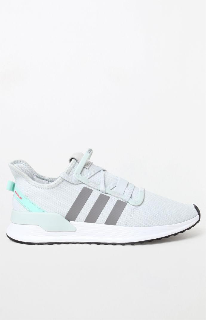 Light Blue U Path Run Shoes