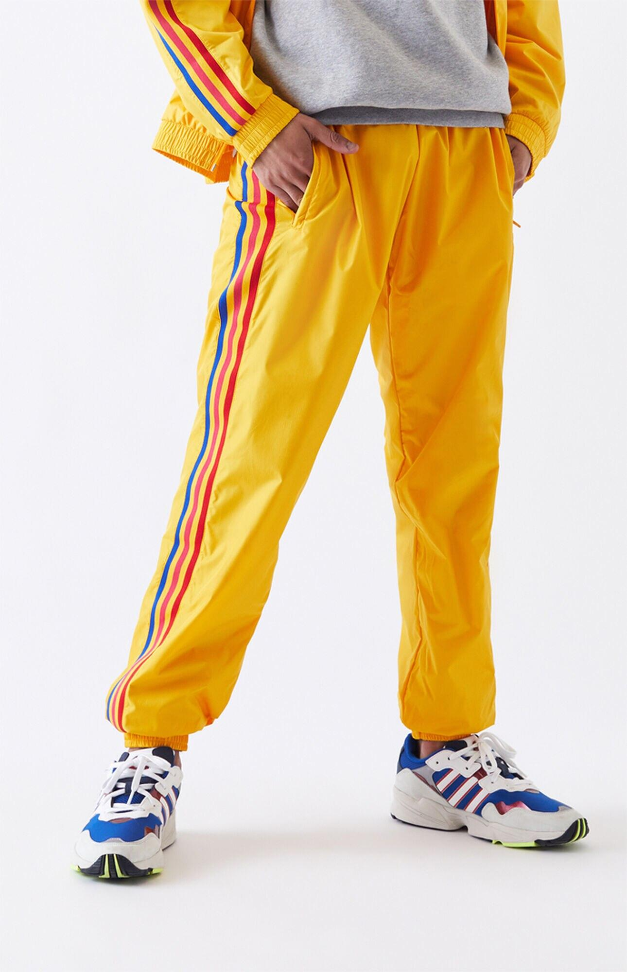 adidas 3d Trefoil 3-stripes Track Pants in Gold (Metallic) for Men ...