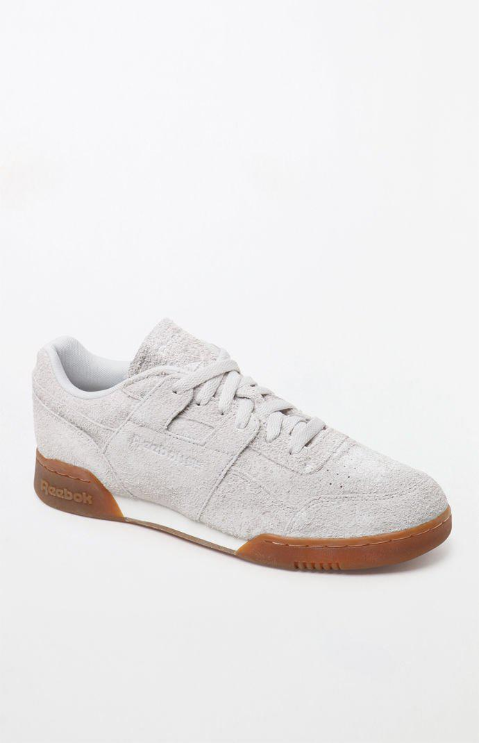 92fe63175656 Reebok - White Workout Plus Mu Suede Shoes for Men - Lyst. View fullscreen